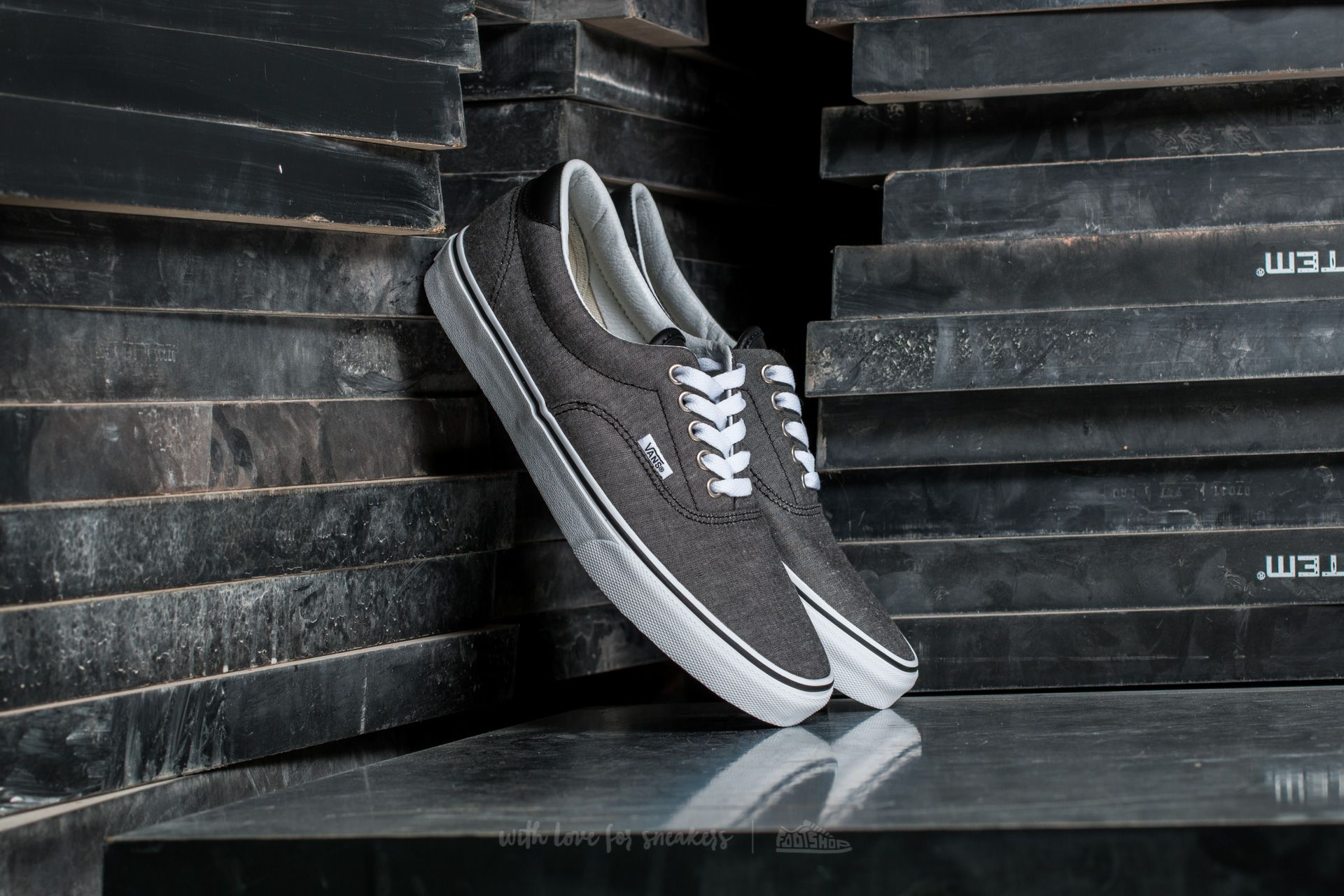 Vans Era 59 (C&L) Chambray/ Black Footshop – FR