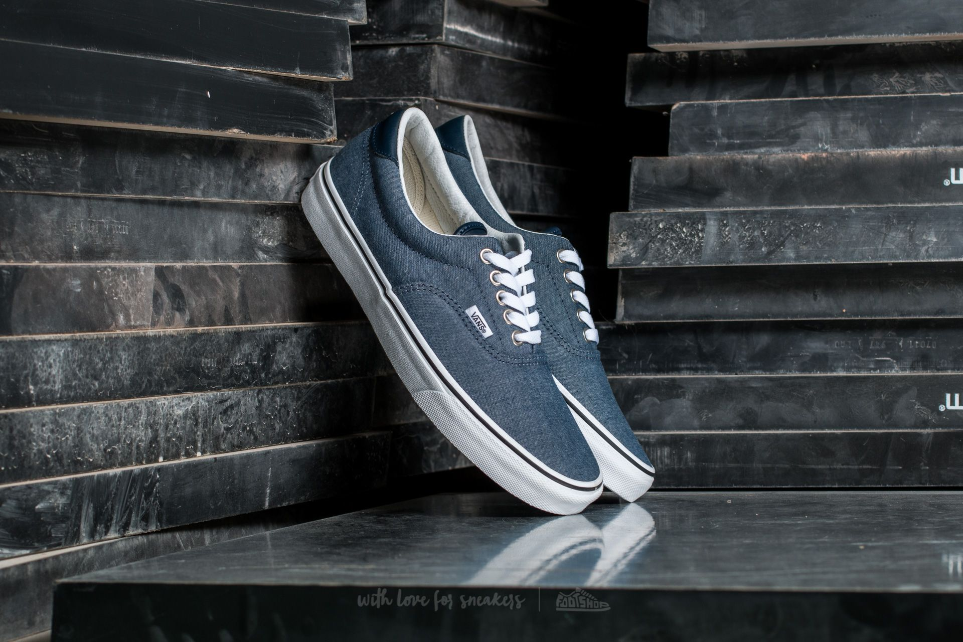 Vans Era 59 (C&L) Chambray/ Blue Footshop – FR
