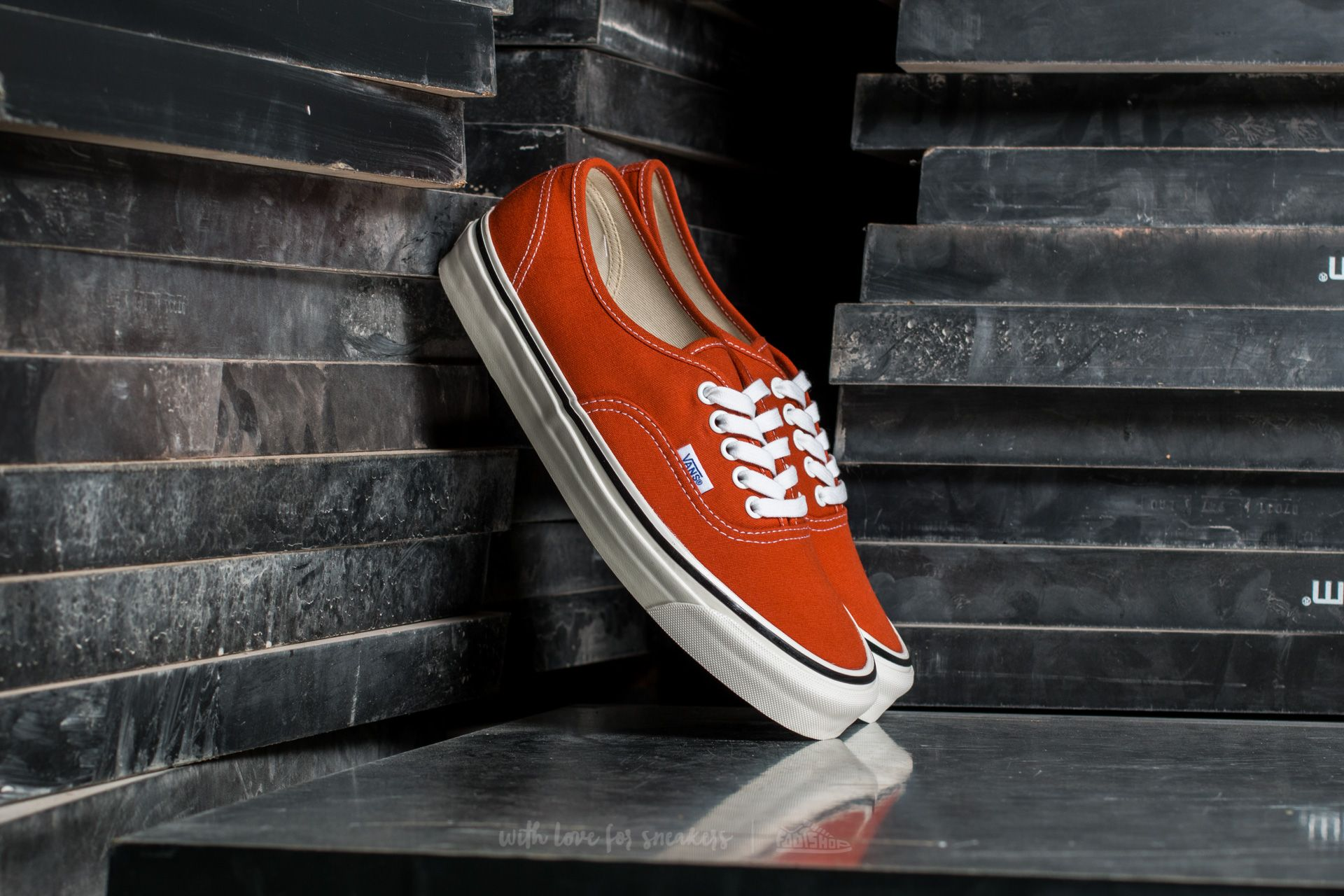 Vans Authentic 44 DX (Anaheim Factory) Orange Footshop – FR