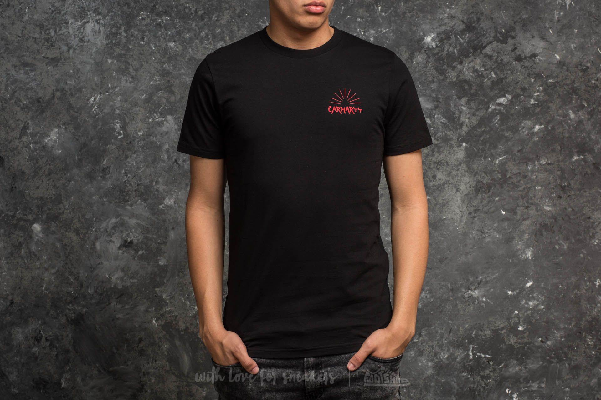 Carhartt WIP Shortsleeve Pyramide T-Shirt Black Footshop – FR