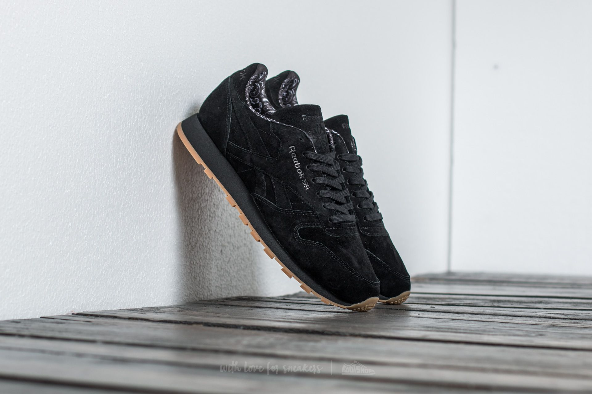 Reebok Classic Leather TDC Black/ White-Gum Footshop – FR