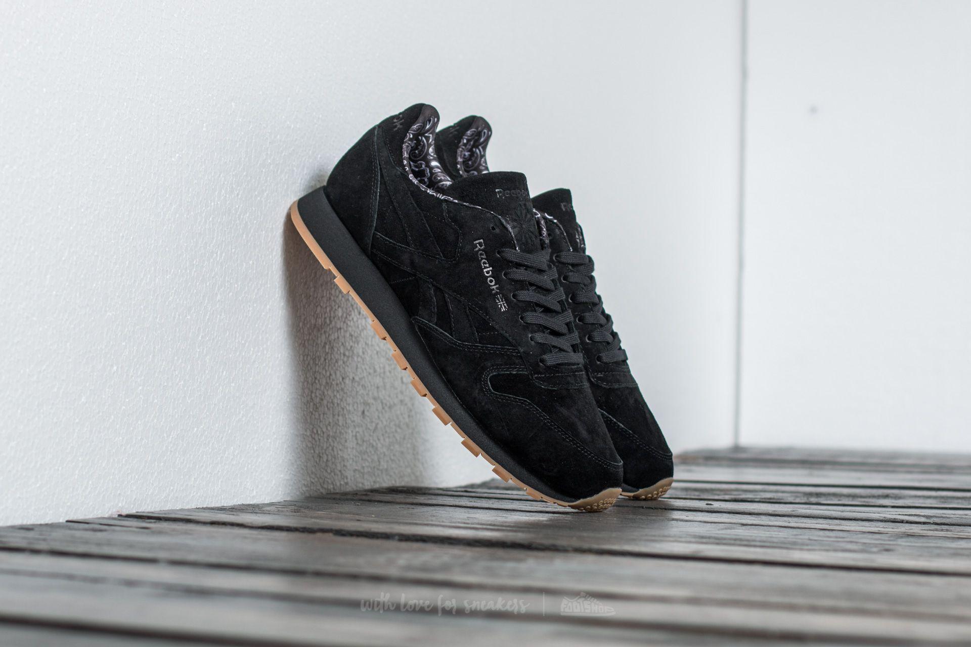 Reebok Classic Leather TDC Black/ White-Gum Footshop – FR