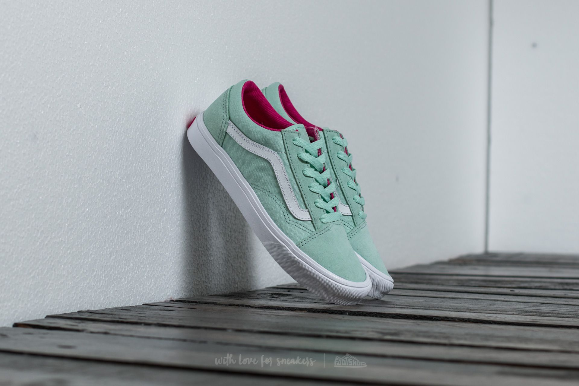 Vans Old Skool Lite (Pop) Bay/ True White Footshop – FR