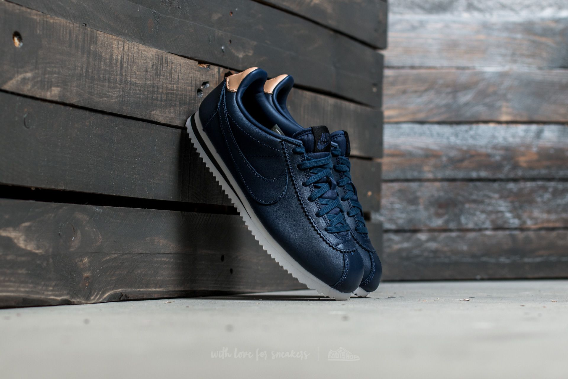 Nike Cortez (GS) Midnight Navy/ Midnight Navy Footshop – FR