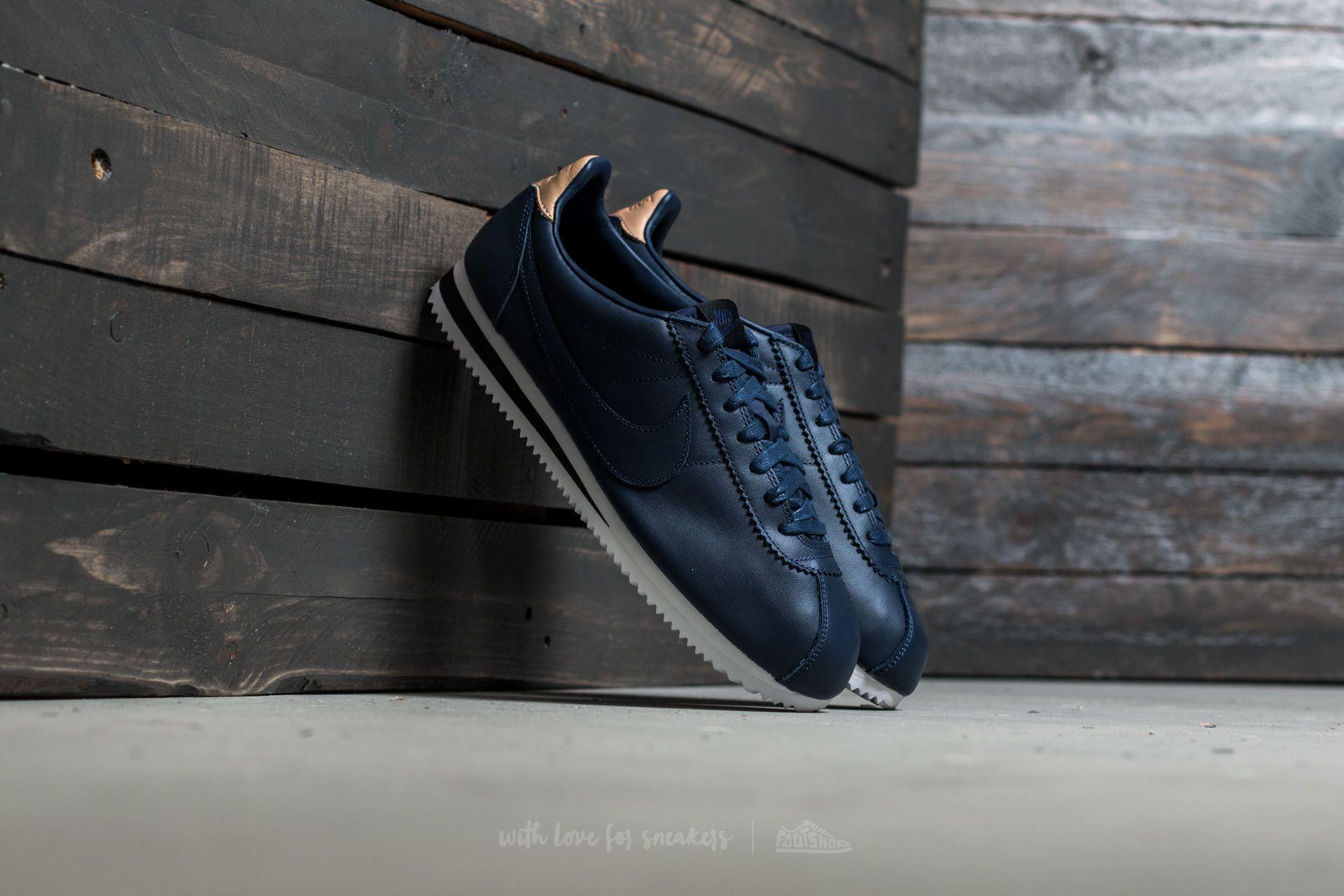 Nike Classic Cortez Leather SE Midnight Navy/ Midnight Navy Footshop – FR