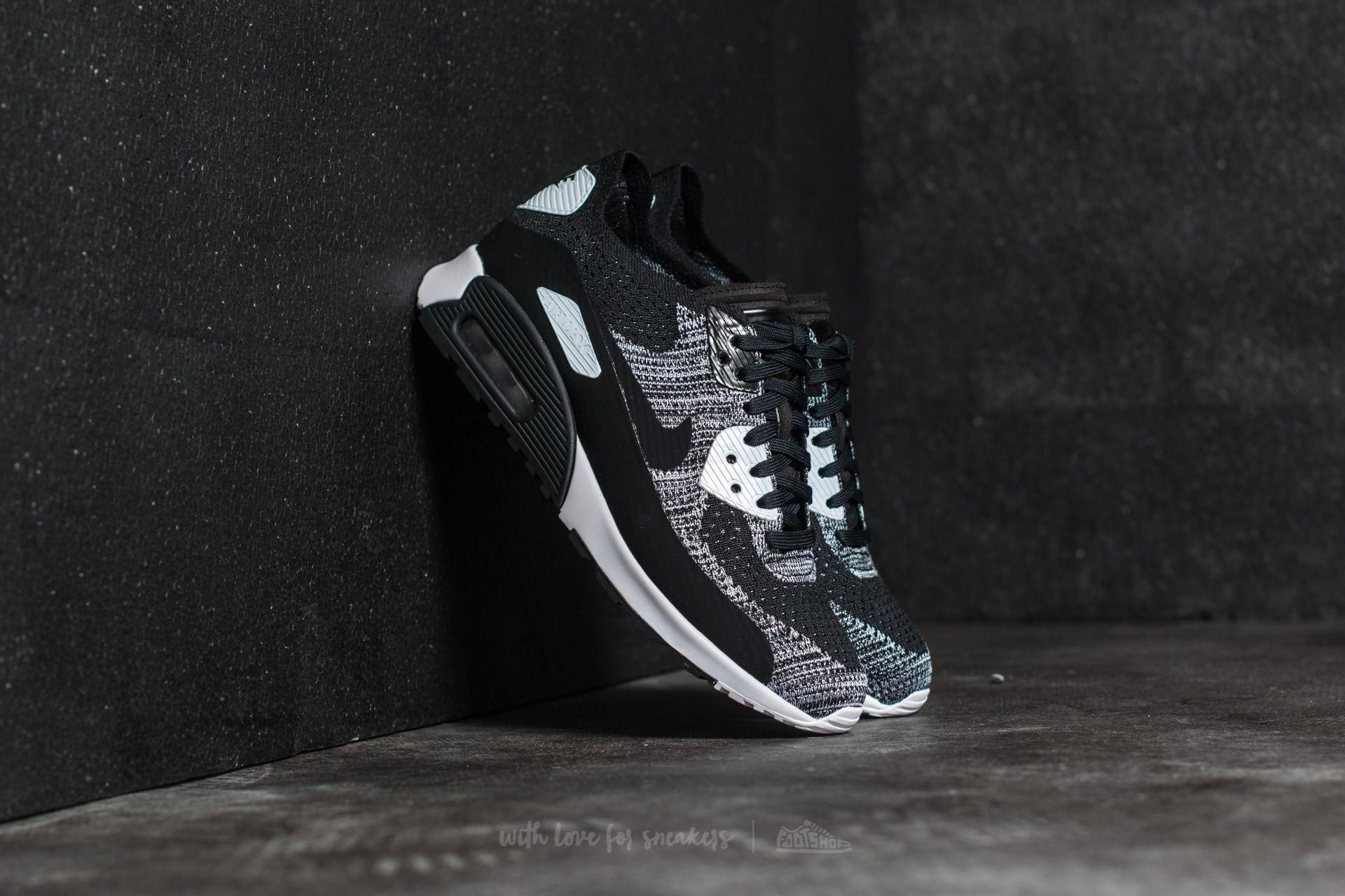 Nike W Air Max 90 Ultra 2.0 Flyknit Black/ Black-White-Anthracite Footshop – FR