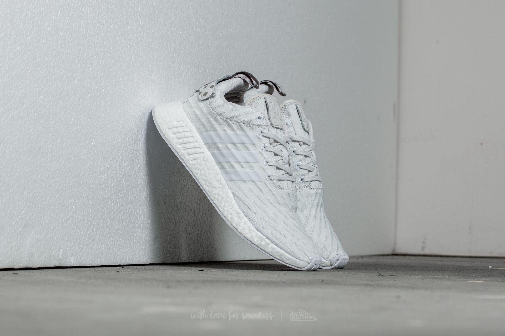 adidas NMD_R2 W Clear Granite/ Vintage White/ Footwear White Footshop – FR