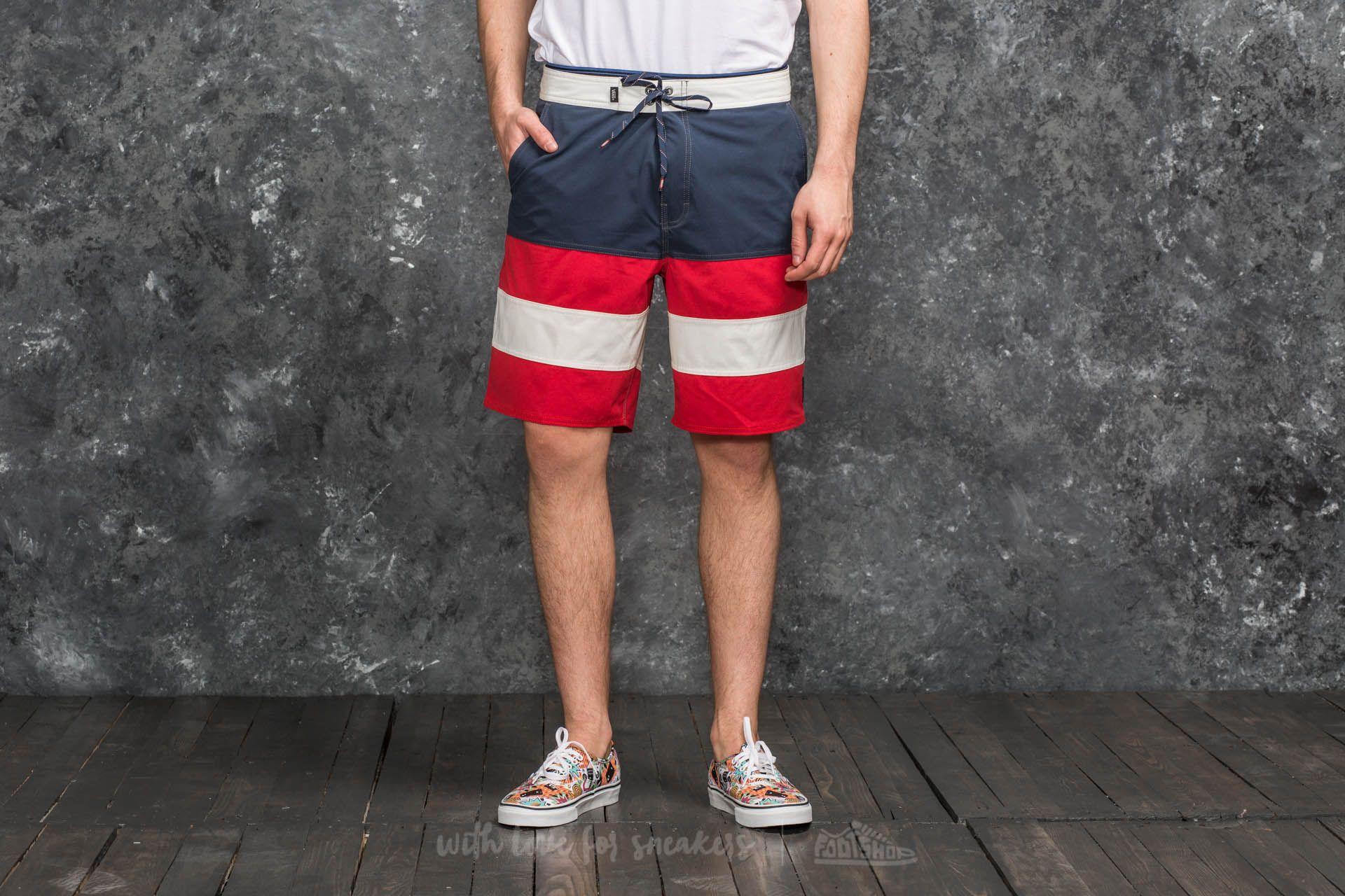 Vans Era Panel Board Short Dress Blues-Racing Red Footshop – FR