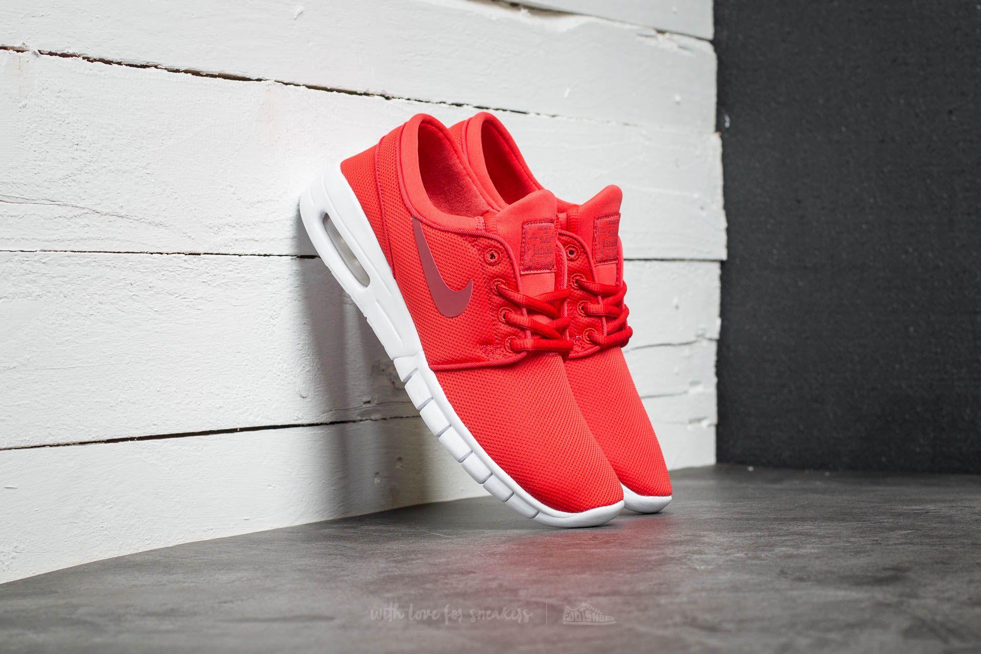 Nike Stefan Janoski Max (GS) Track Red/ Cedar-White Footshop – FR