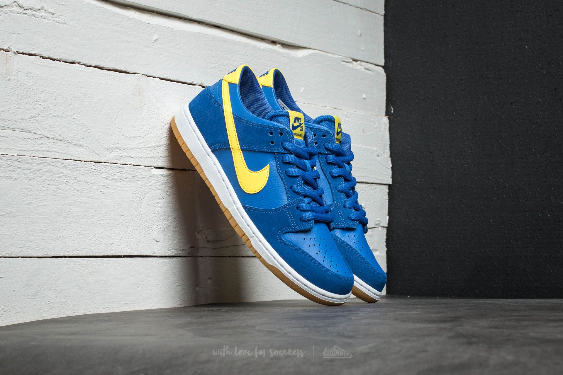 Nike SB Zoom Dunk Low Pro Varsity Royal/ Lightening-White Footshop – FR