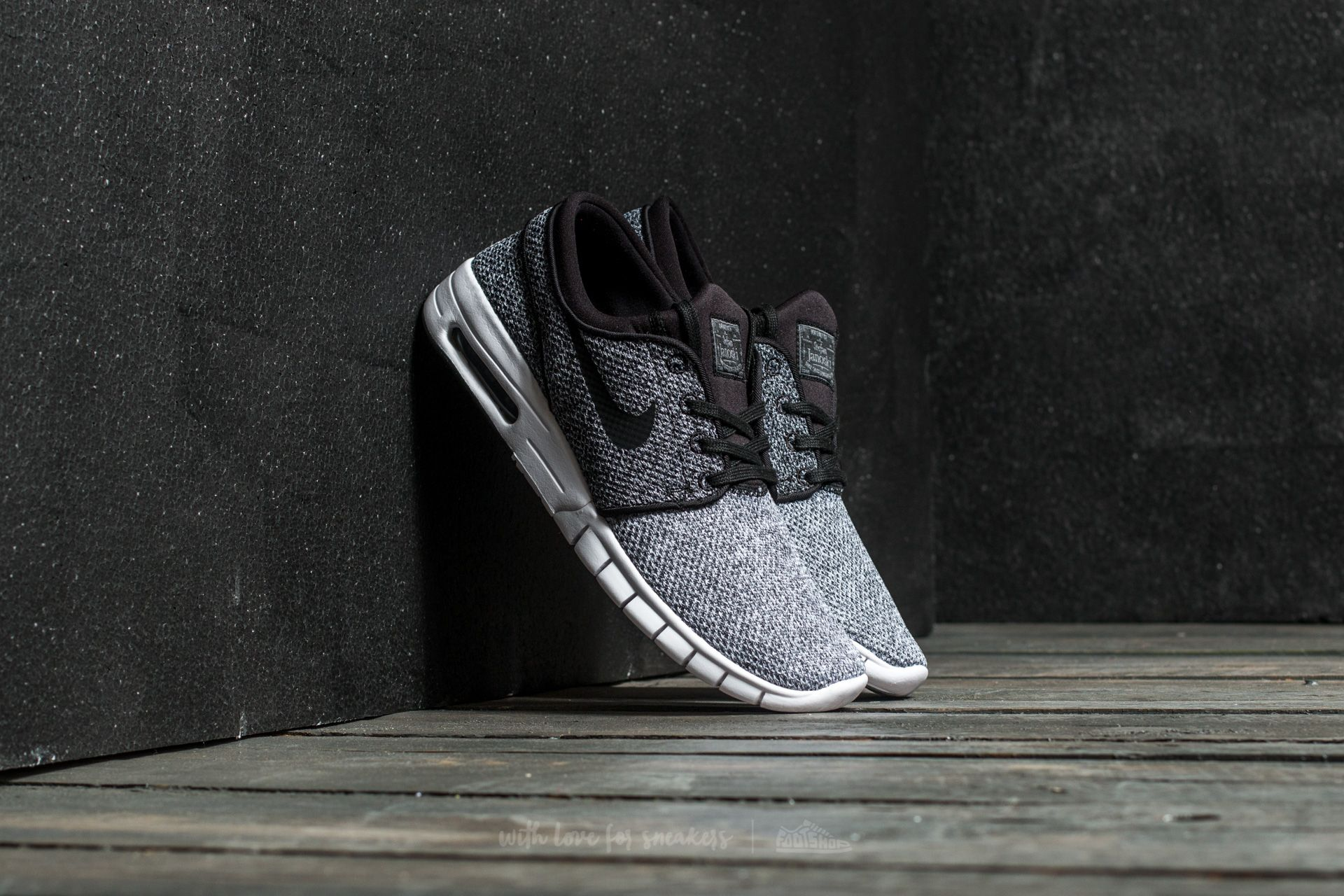 Nike Stefan Janoski Max White/ Black-Dark Grey Footshop – FR