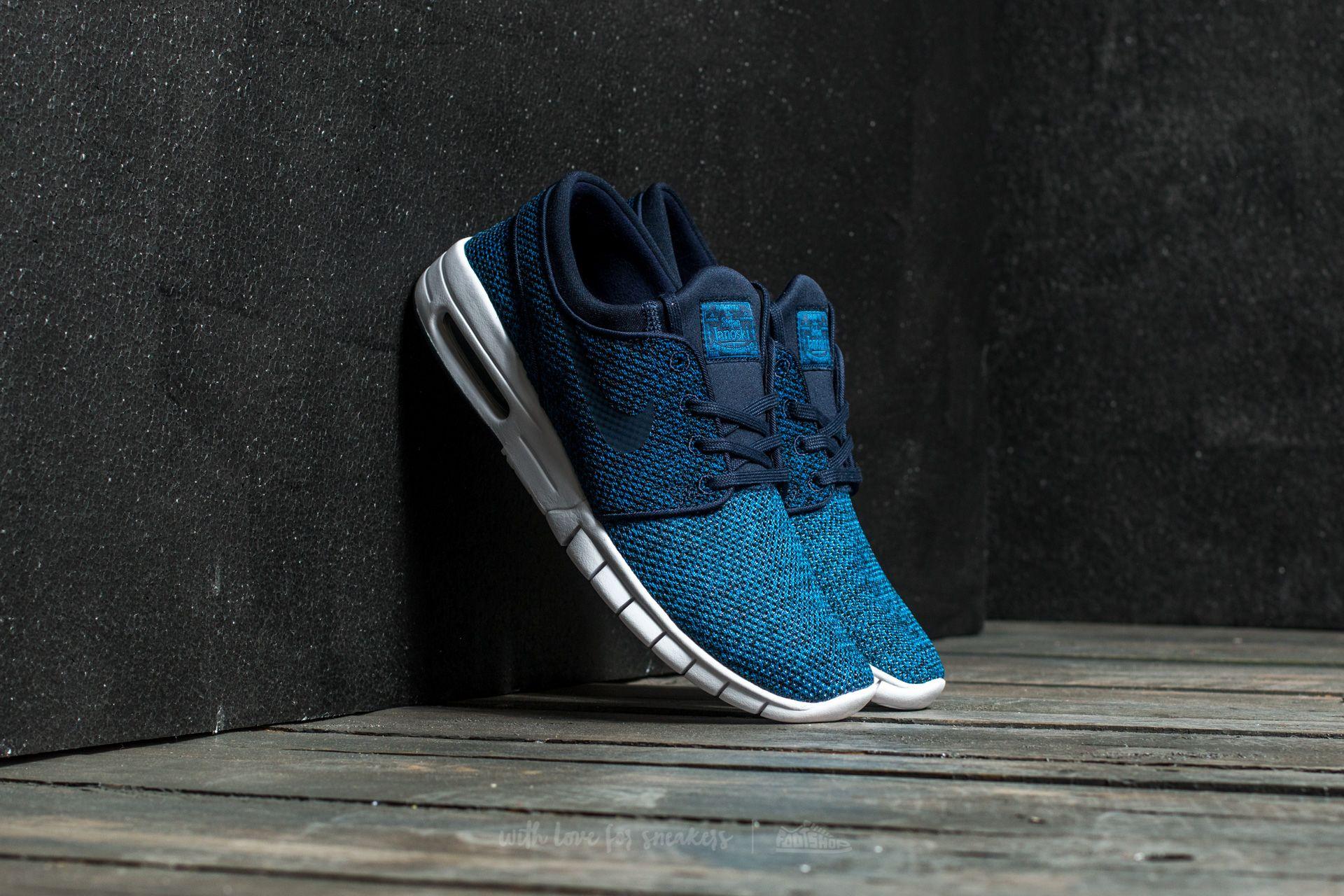 Nike Stefan Janoski Max Industrial Blue/ Obsidian Footshop – FR