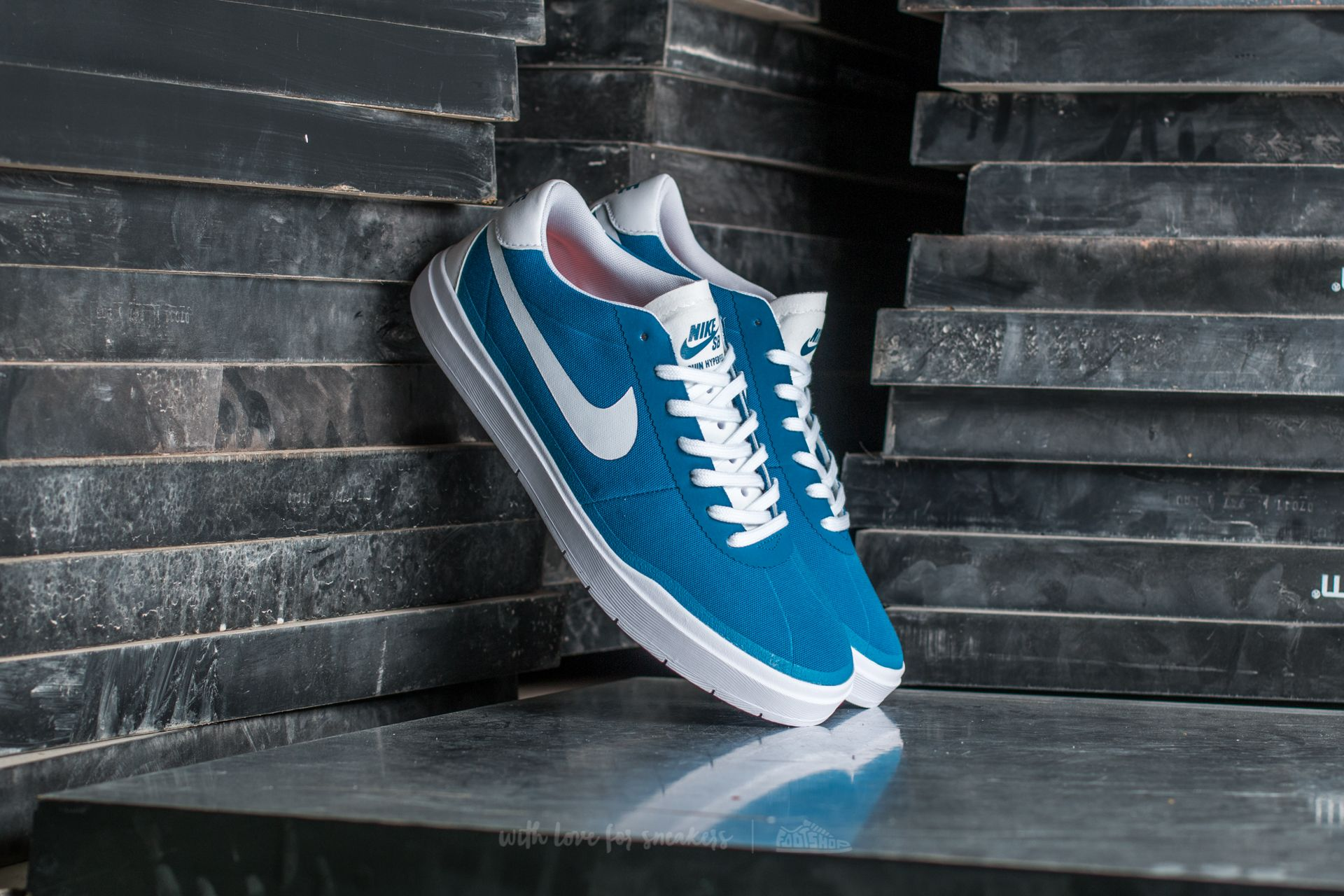 Nike SB Bruin Hyperfeel CNVS Industrial Blue/ White-White Footshop – FR