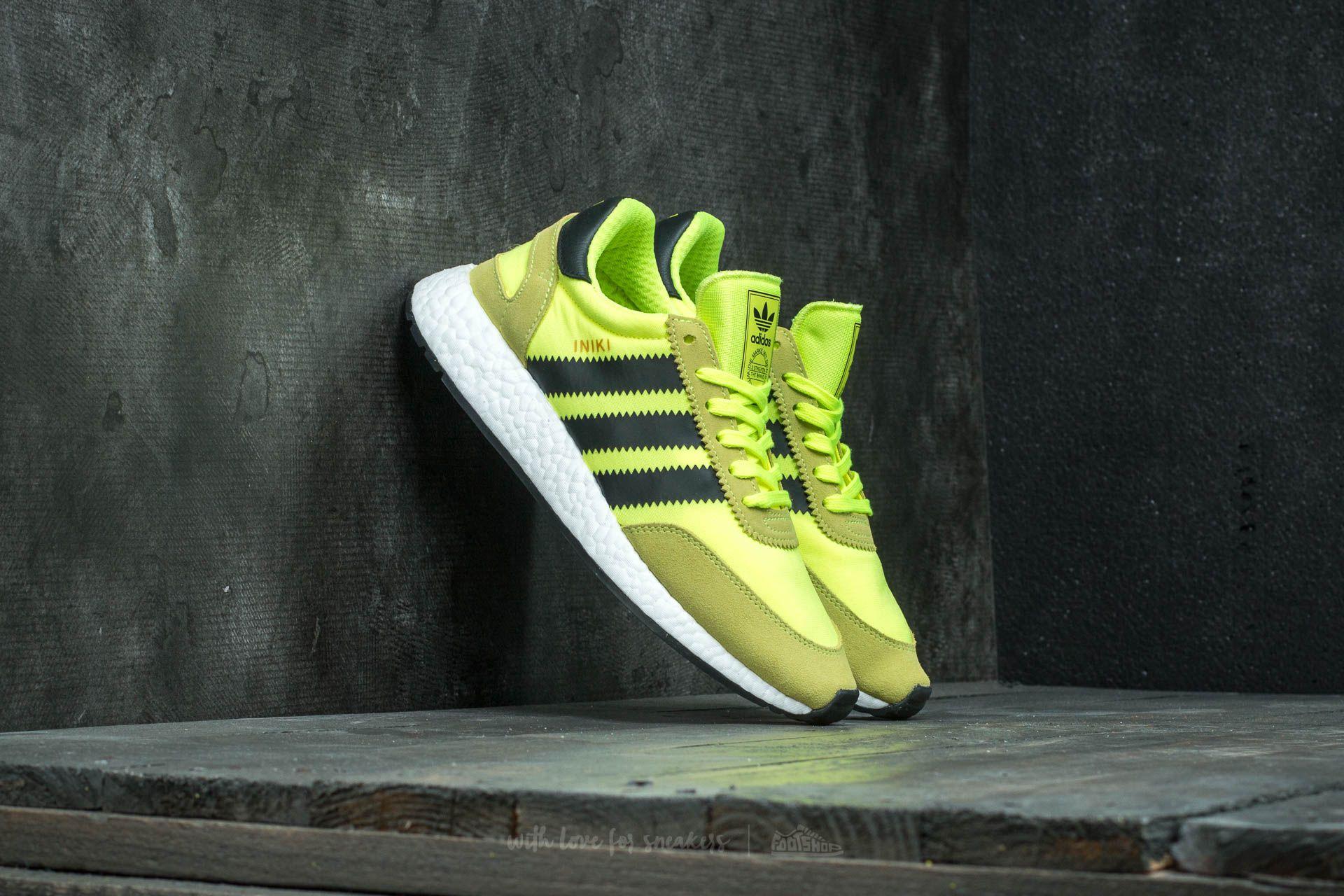 adidas Iniki Runner Solar Yellow/ Core Black/ Ftw White Footshop – FR