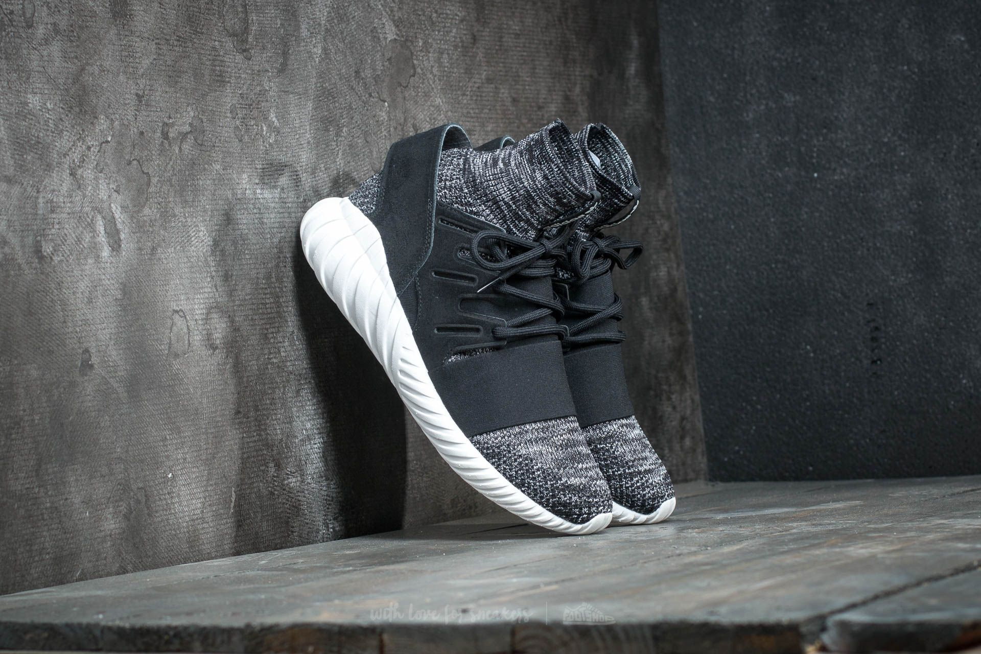 adidas Tubular Doom Primeknit Core Black/ Granite/ Vintage White Footshop – FR