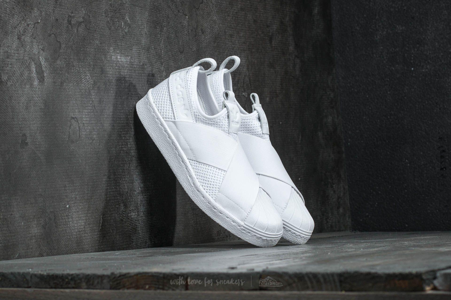 adidas Superstar SlipOn W Ftw White/ Ftw White/ Core Black Footshop – FR