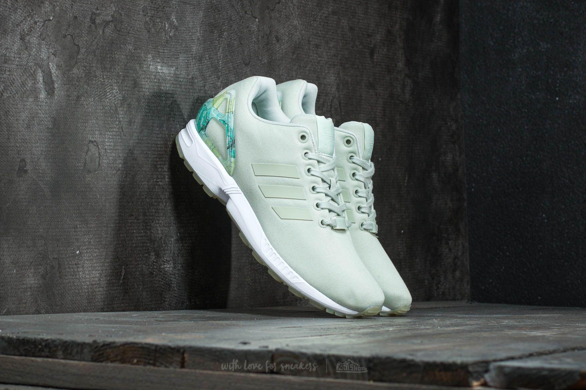 adidas ZX Flux W Linen Green/ Linen Green/ Ftw White Footshop – FR