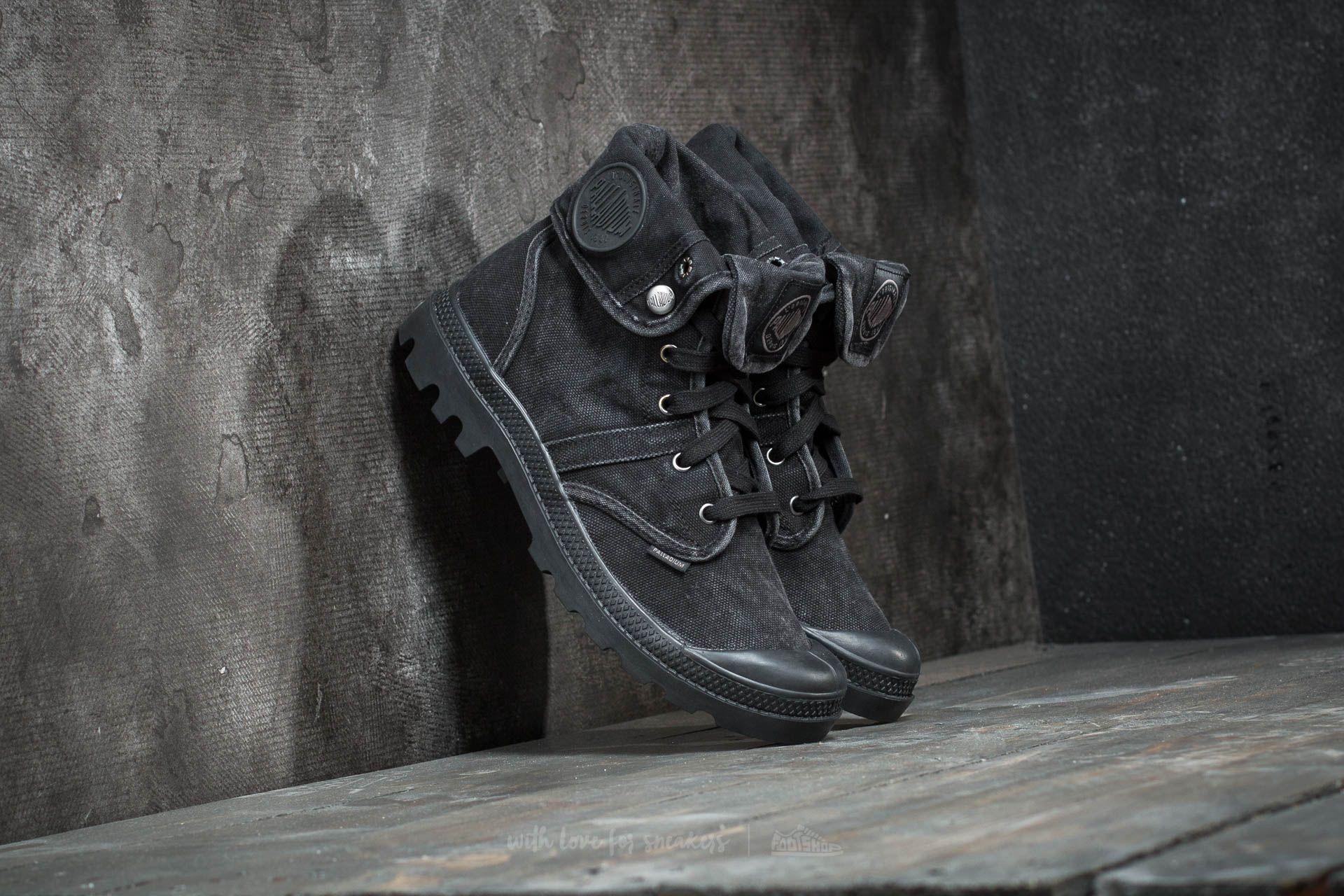 Palladium Pallabrouse Baggy Black/ Metal Footshop – FR
