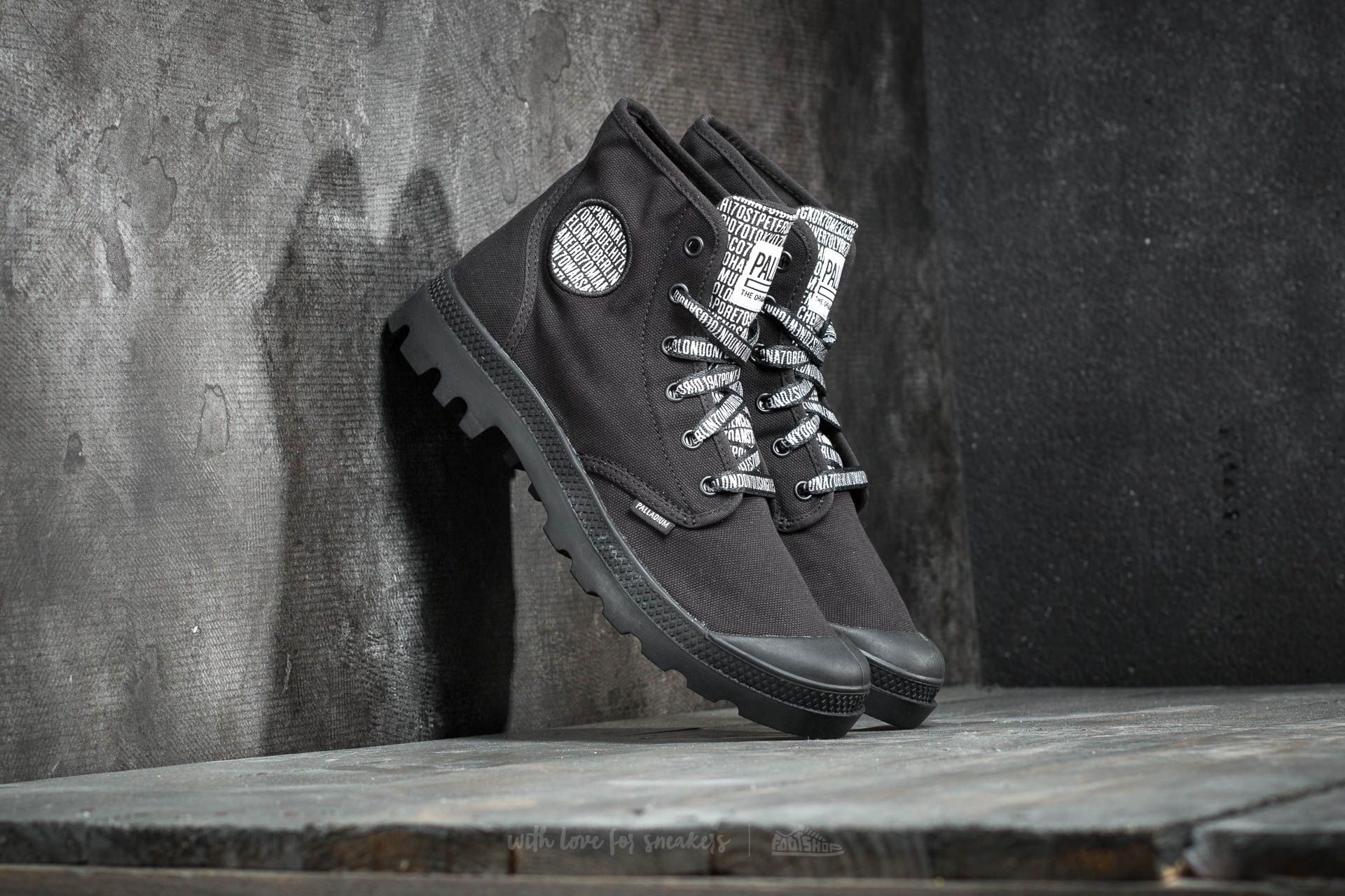 Palladium Pampa Hi 70th Anniversary Black Footshop – FR