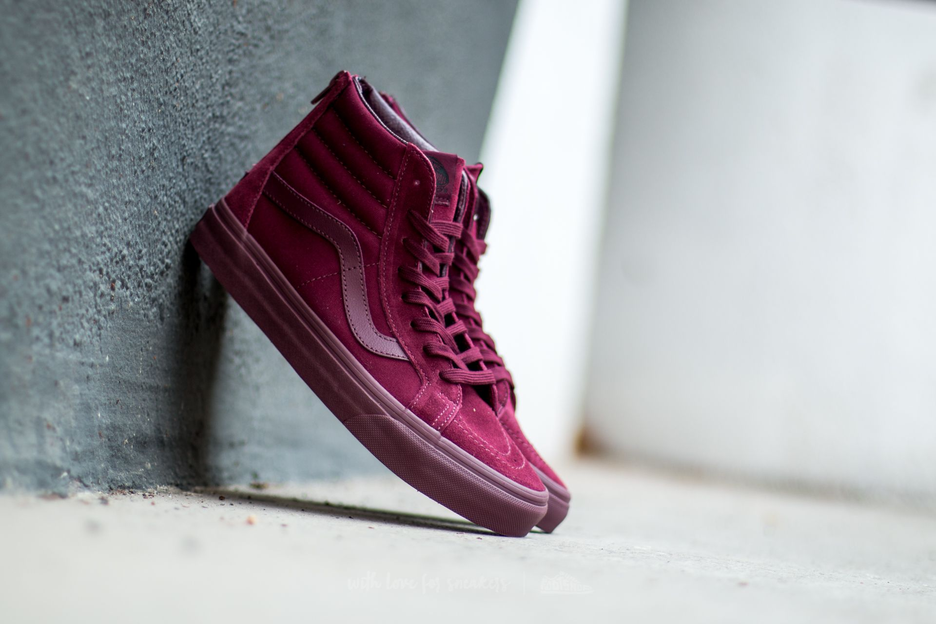 Vans Sk8-Hi Reissue Zip (Mono) Port Royale Footshop – FR