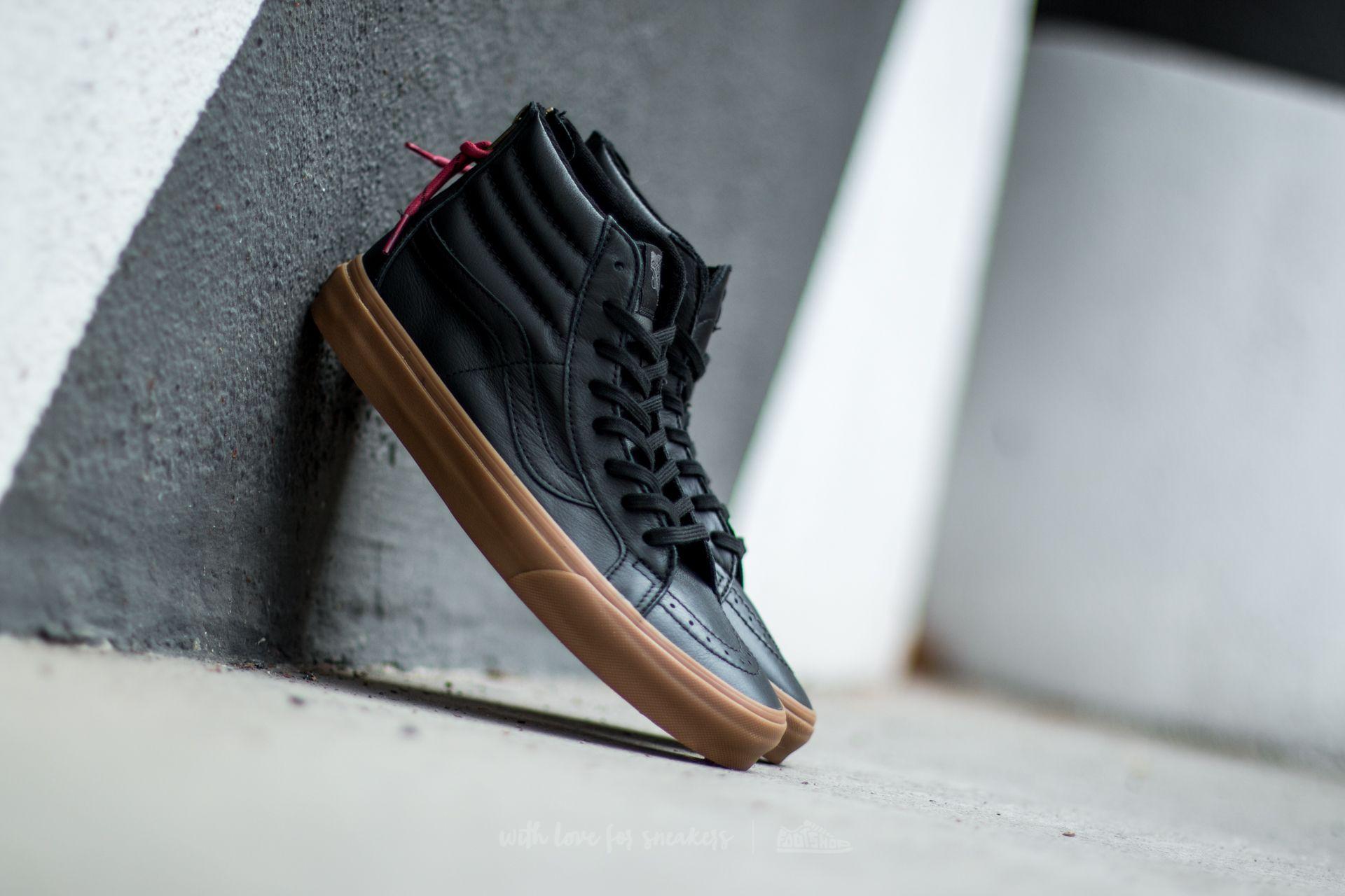 Vans Sk8-Hi Reissue Zip (Hiking) Black/ Gum Footshop – FR