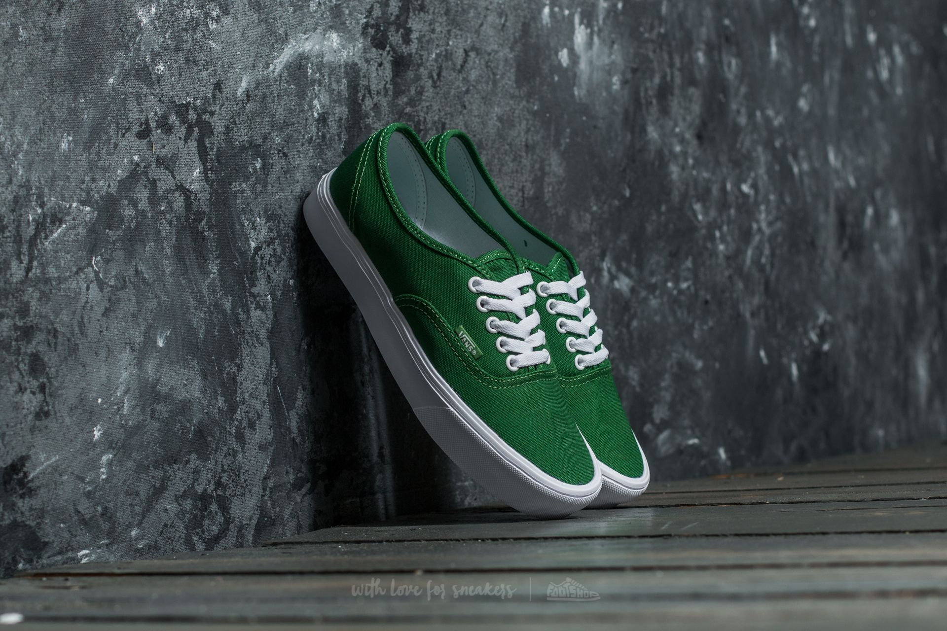 Vans Authentic Lite (Canvas) Juniper/ True White