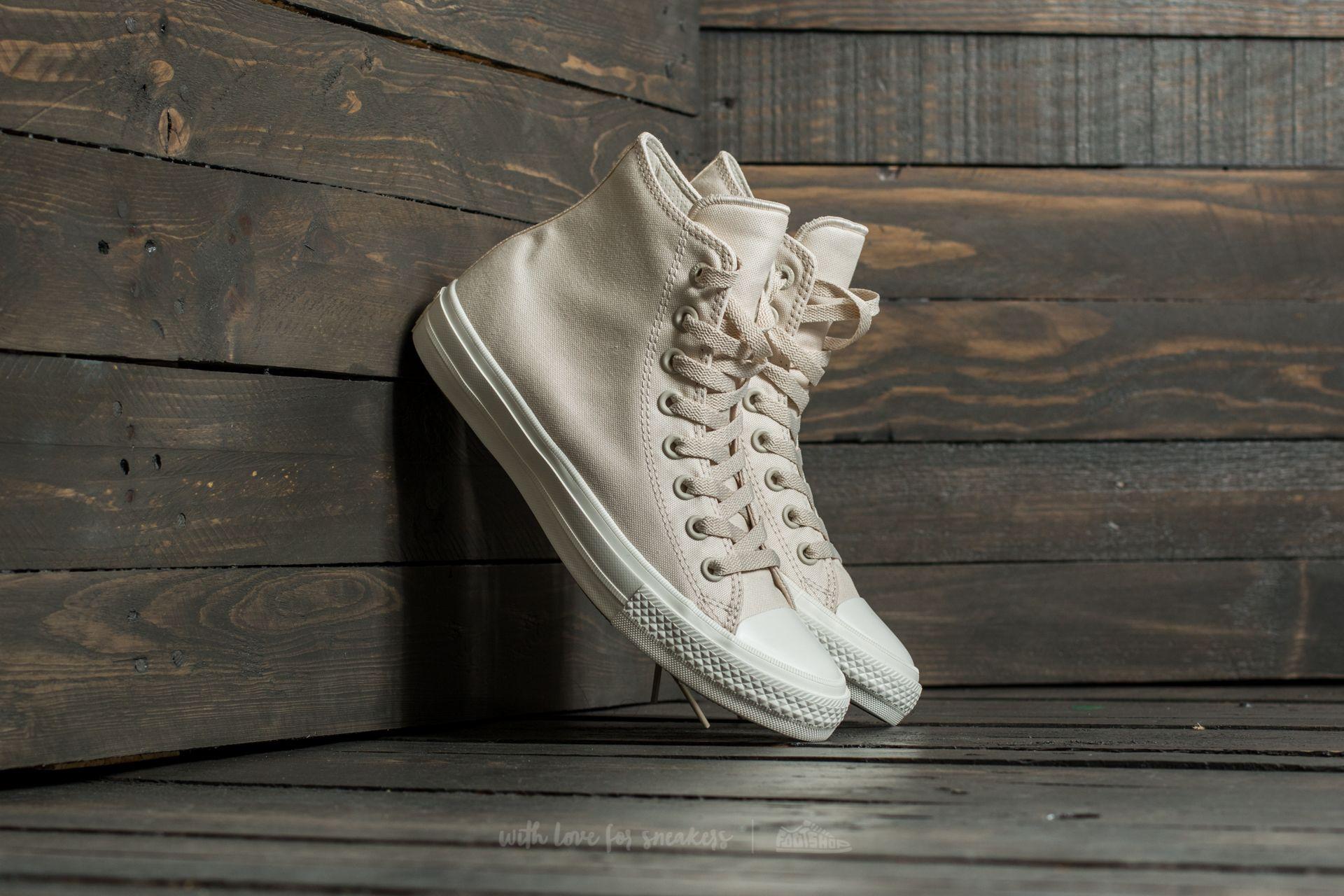 Converse Chuck Taylor AS II Hi Parchment/ Navy/ White Footshop – FR