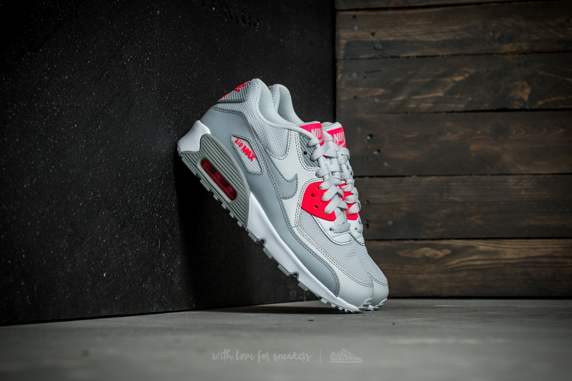 Nike Air Max 90 Mesh (GS) Pure Platinum/ Wolf Grey Footshop – FR