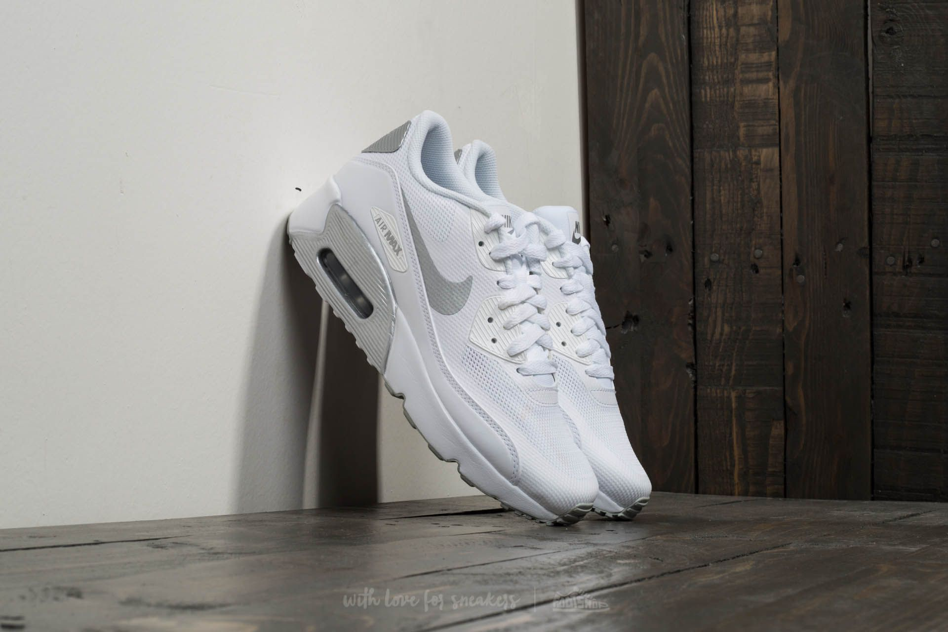 Nike Air Max 90 Ultra 2.0 (GS) White/ Metallic Silver Footshop – FR