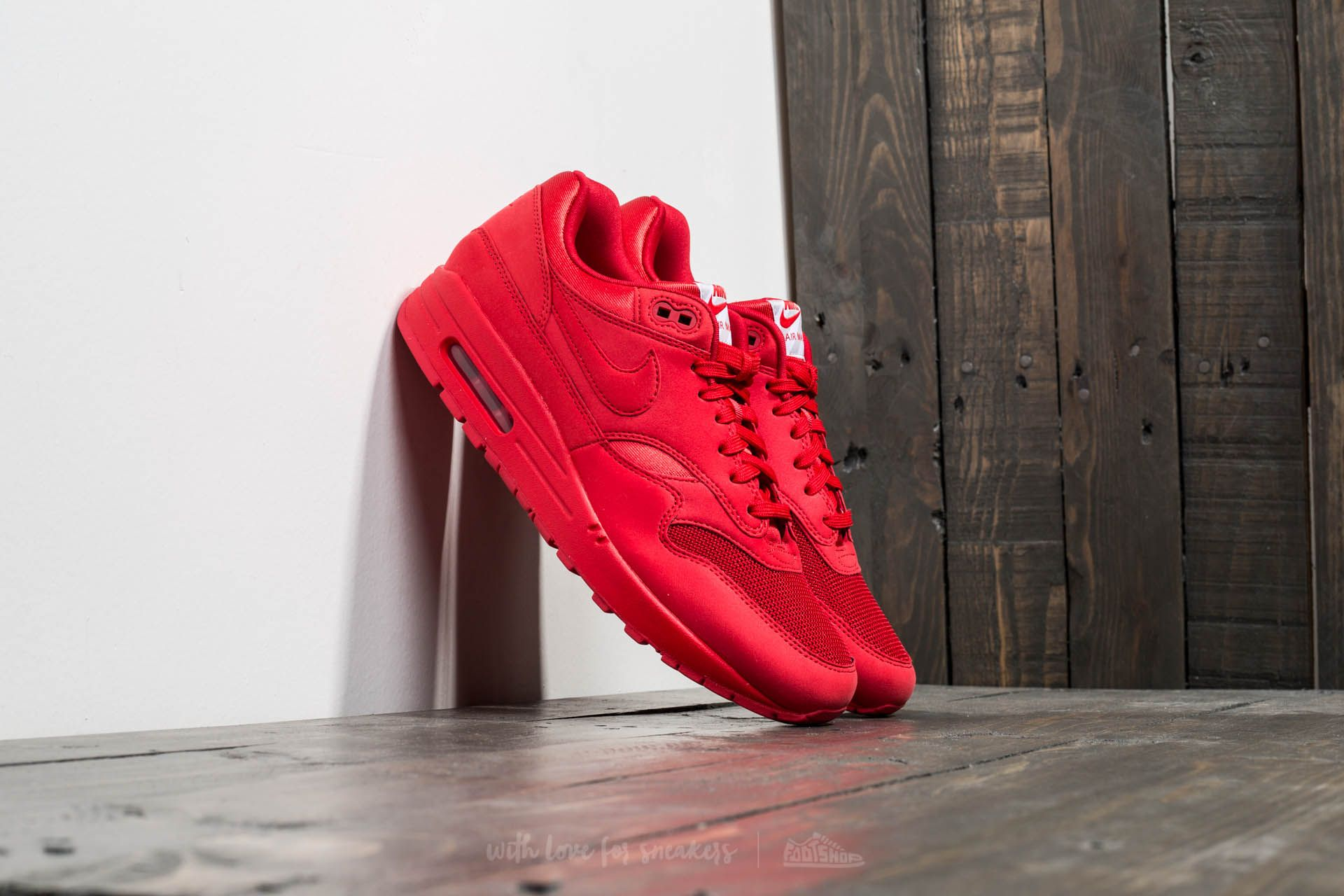 Nike Air Max 1 Premium University Red/ University Red Footshop – FR