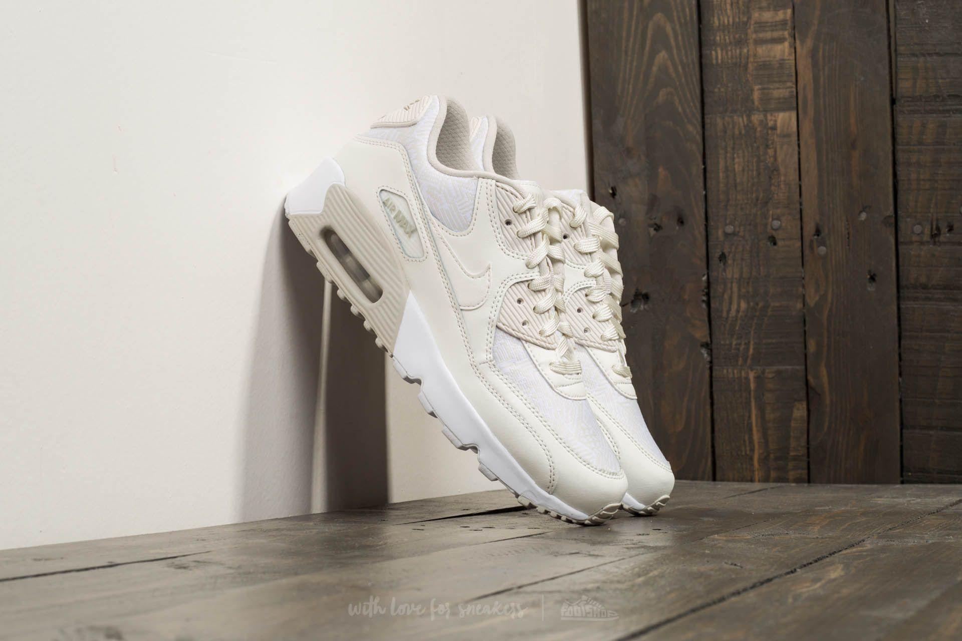 Nike Air Max 90 SE Mesh (GS) Summit White/ Summit White Footshop – FR
