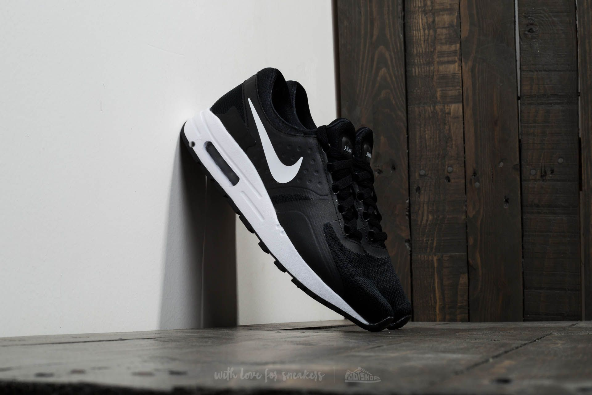 Nike Air Max Zero Essential GS Black/ White-Dark Grey Footshop – FR