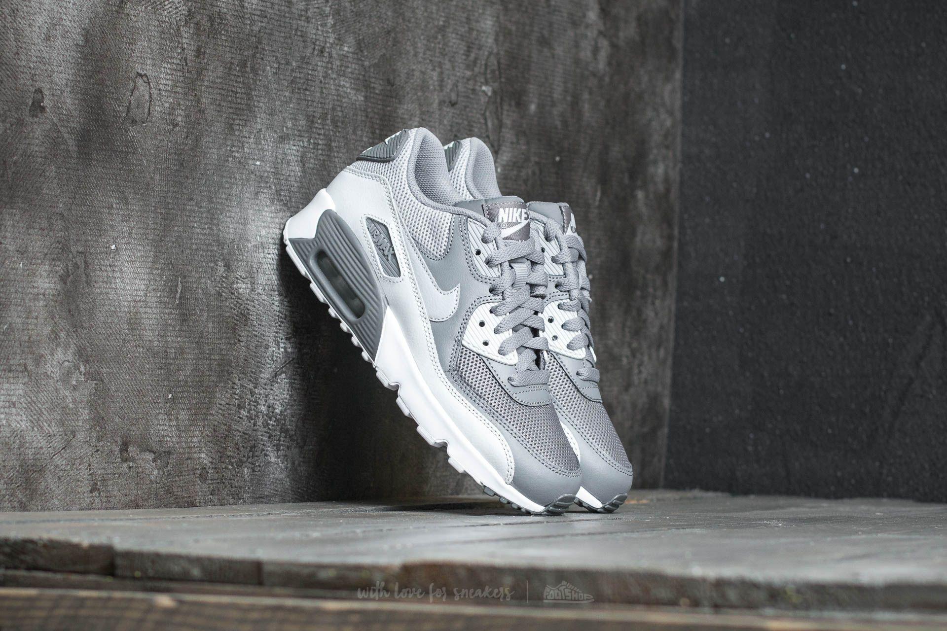 Nike Air Max 90 Mesh (GS) Cool Grey/ Wolf Grey Footshop – FR