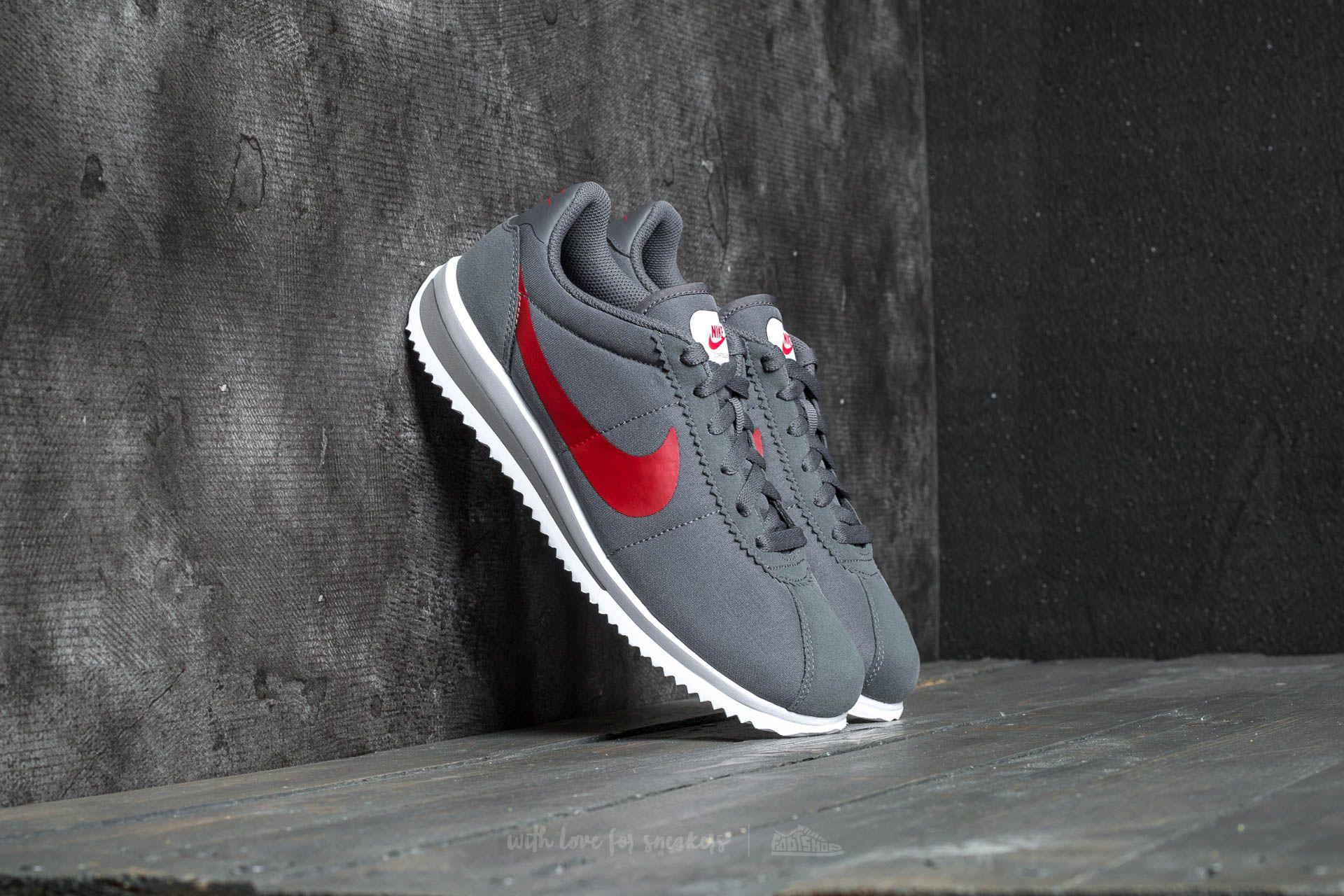Nike Cortez Ultra (GS) Dark Grey/ University Red Footshop – FR