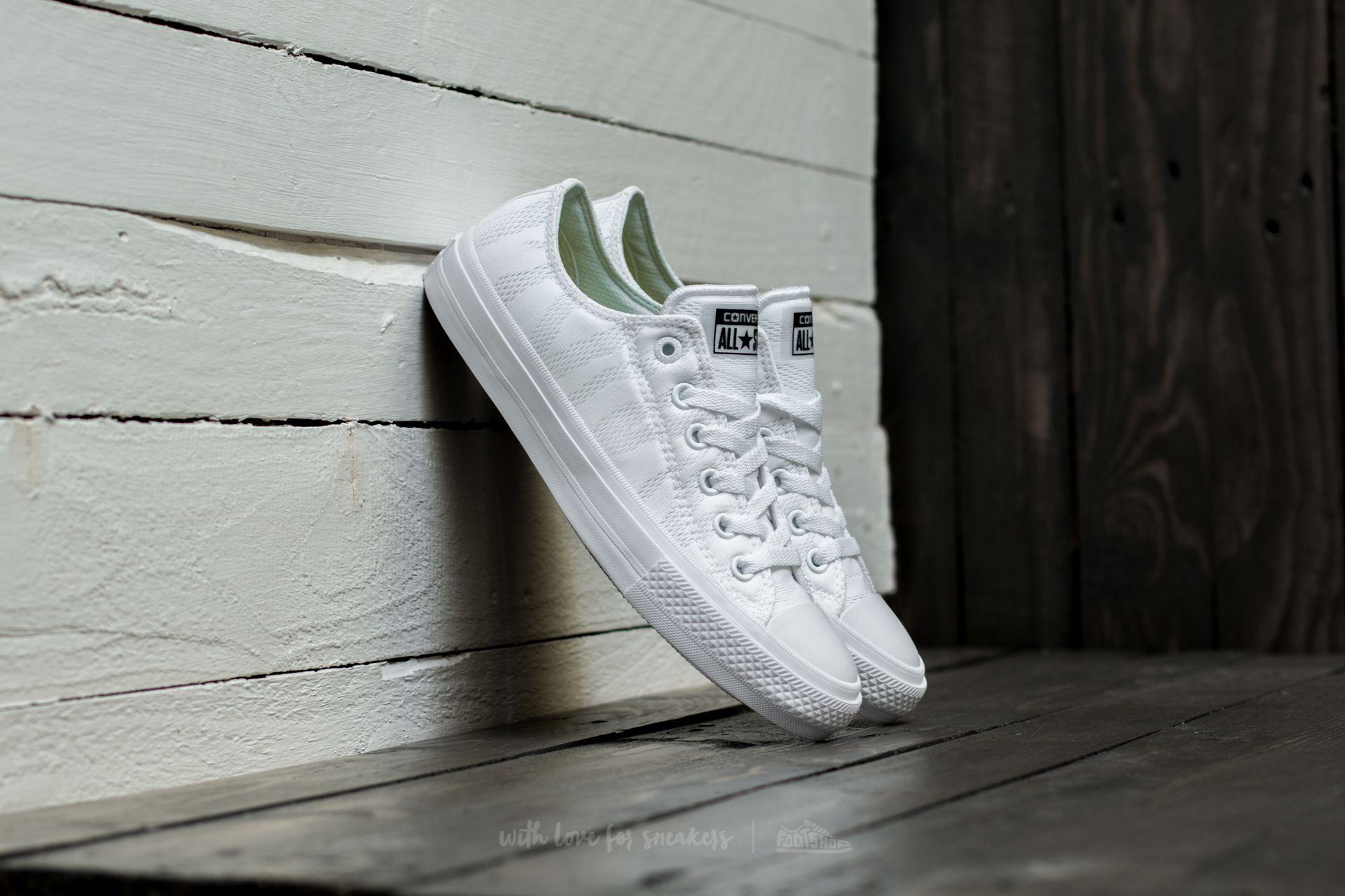 Converse Chuck Taylor All Star II Ox White/ White/ Gum Footshop – FR