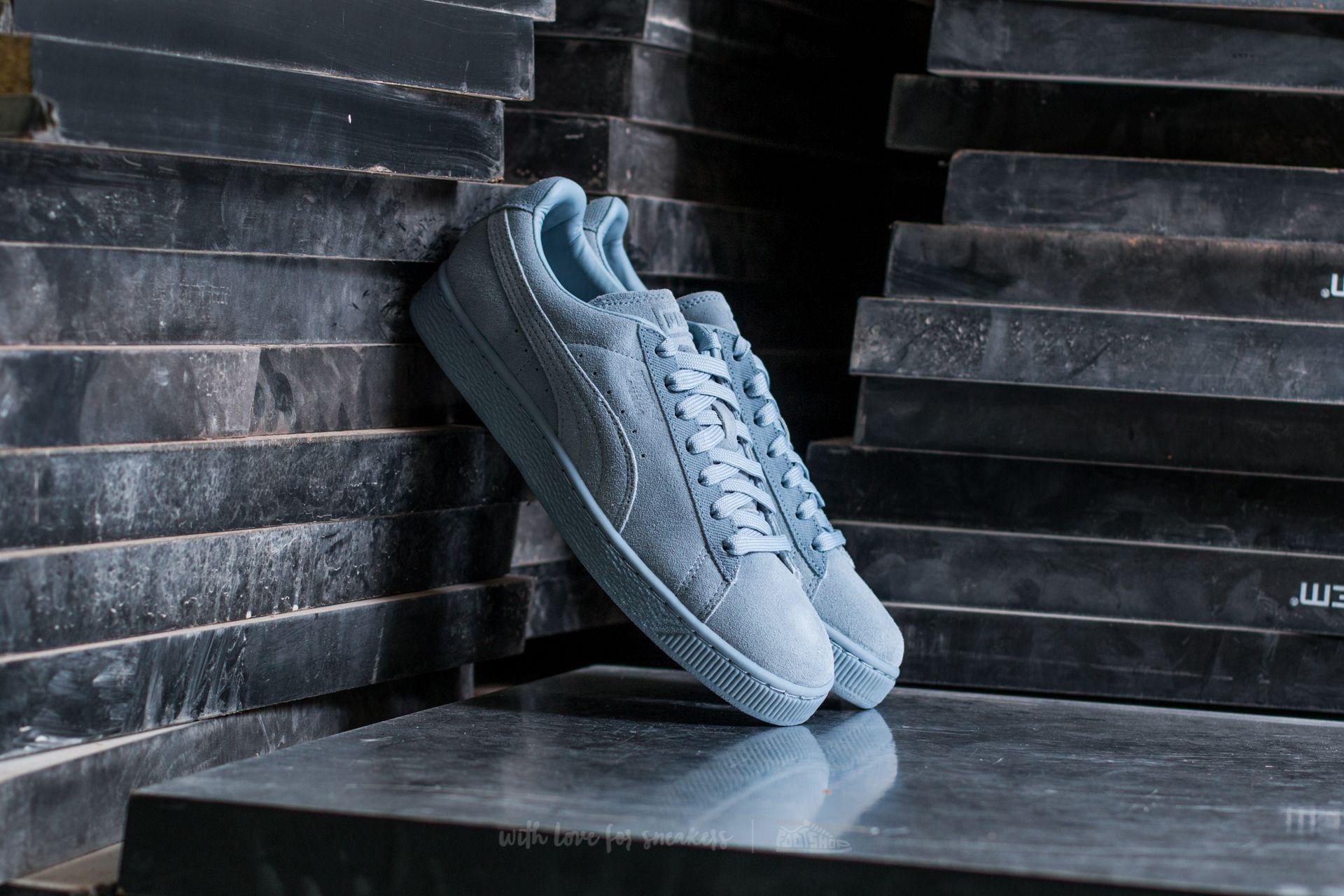 Puma Suede Classic Tonal Blue Fog Footshop – FR