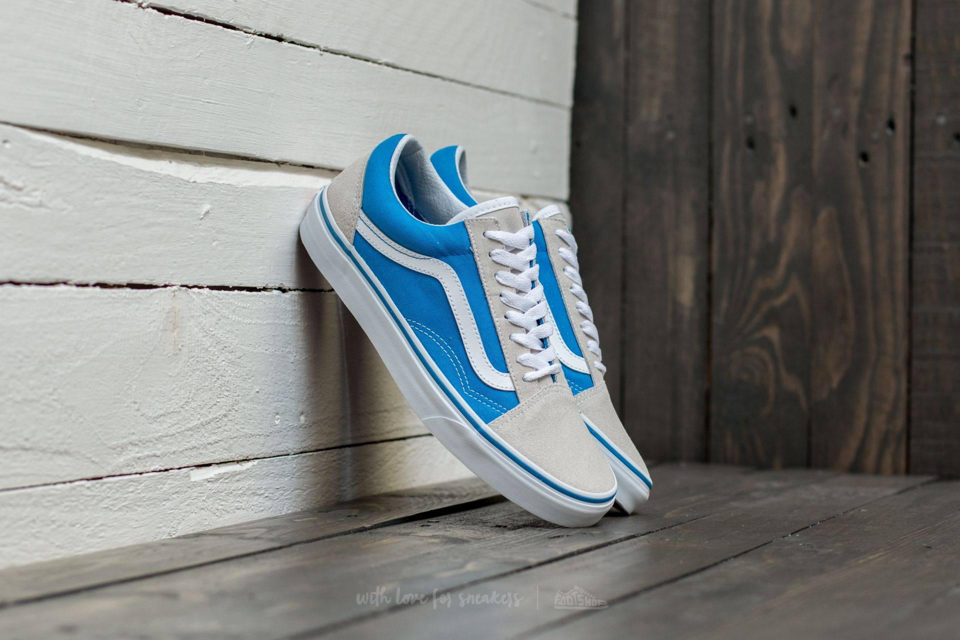Vans Old Skool French Blue/ True White Footshop – FR