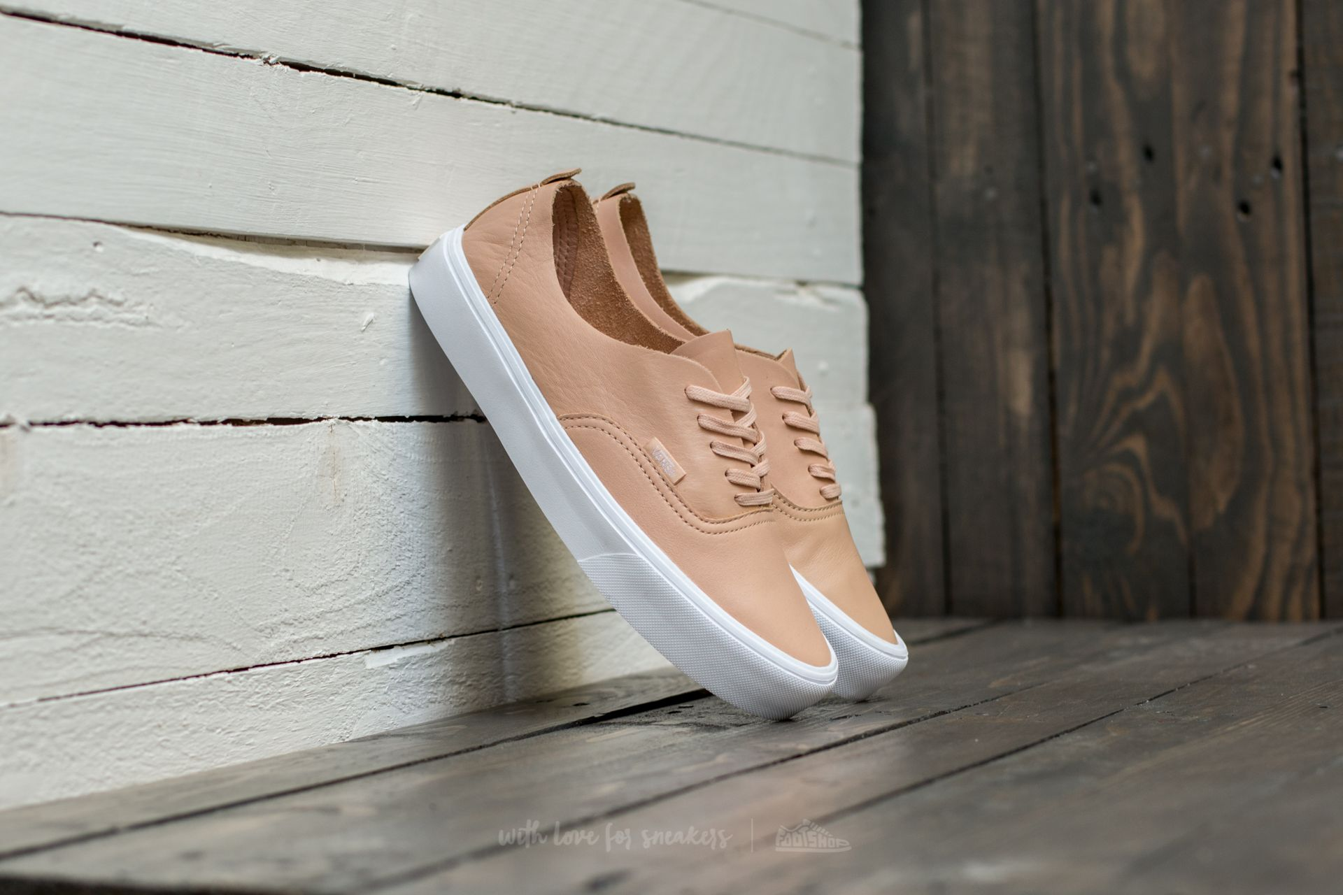 Vans Authentic Decon (Leather) Amberlight Footshop – FR