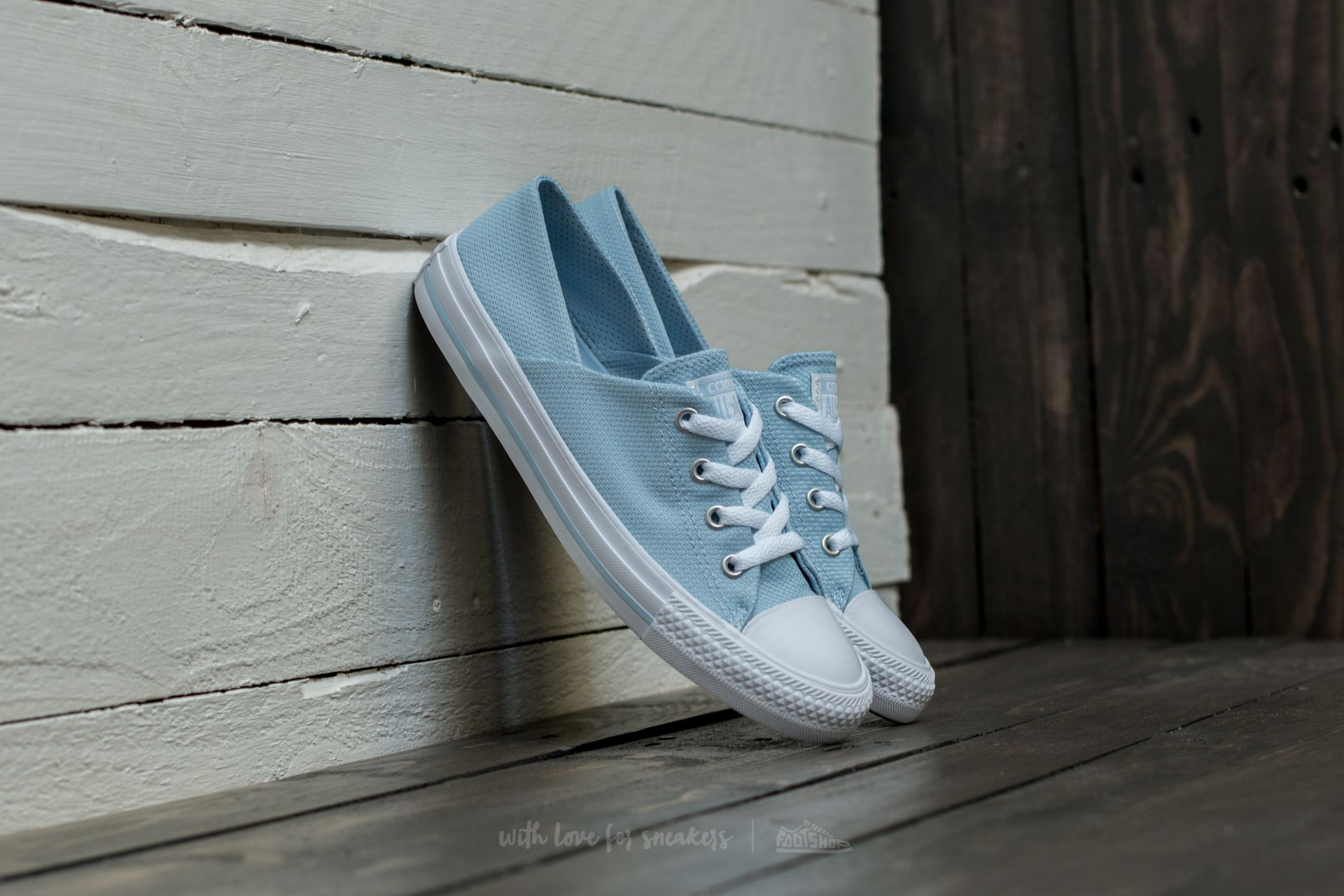 Converse Chuck Taylor All Star Coral Ox Porpoise/ White/ White Footshop – FR