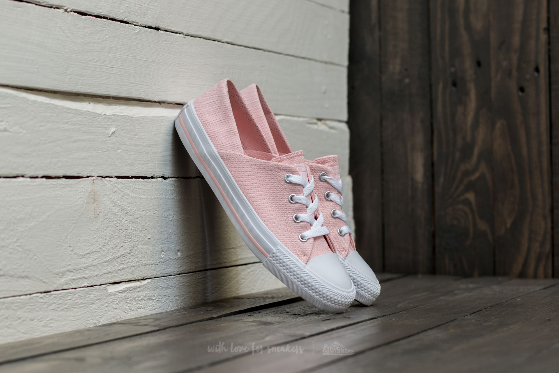 Converse Chuck Taylor All Star Coral Ox Vapor Pink/ Vapor Pink/ White Footshop – FR
