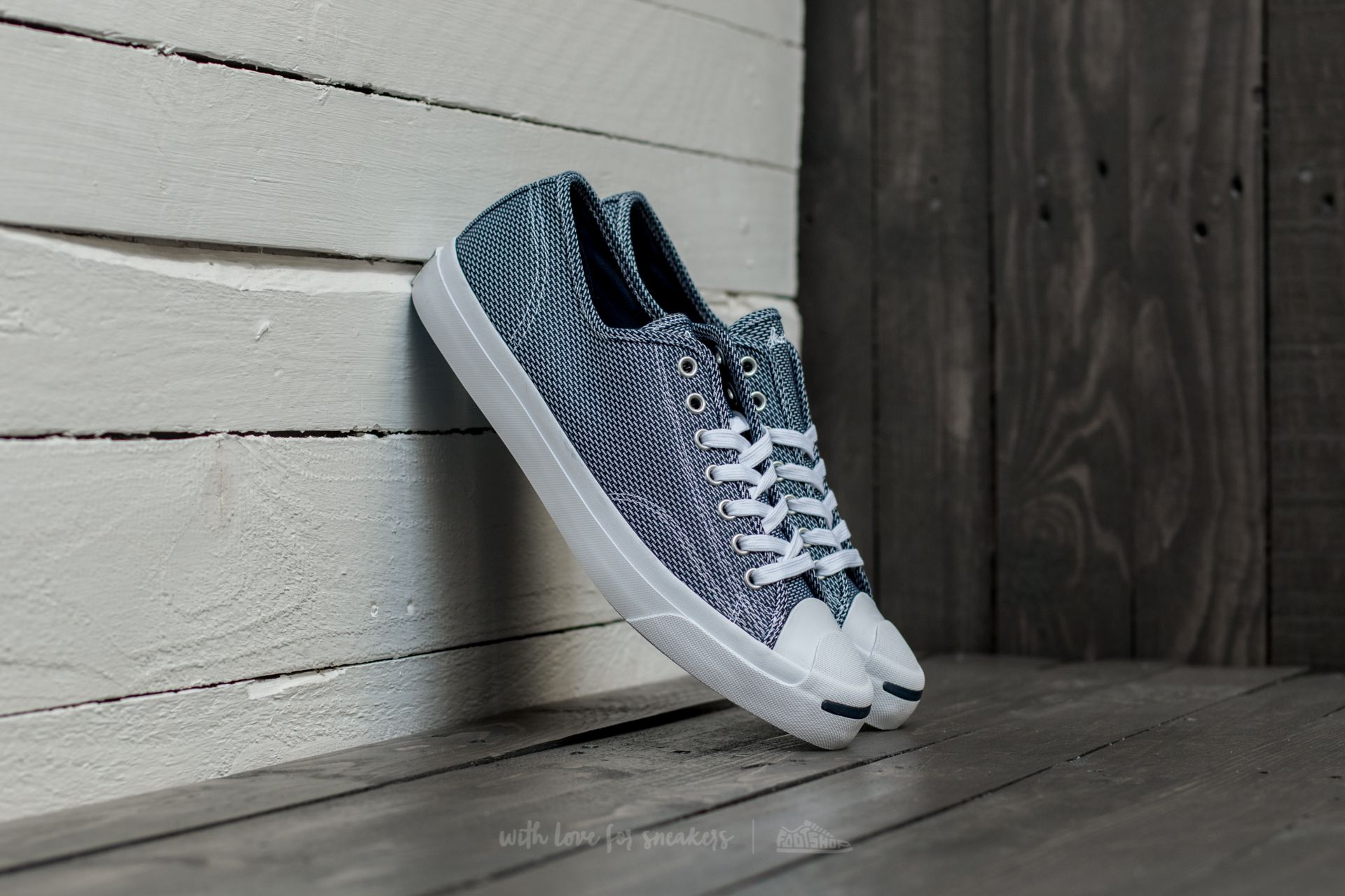 Converse Jack Purcell Jack Ox Navy/ White/ Navy Footshop – FR