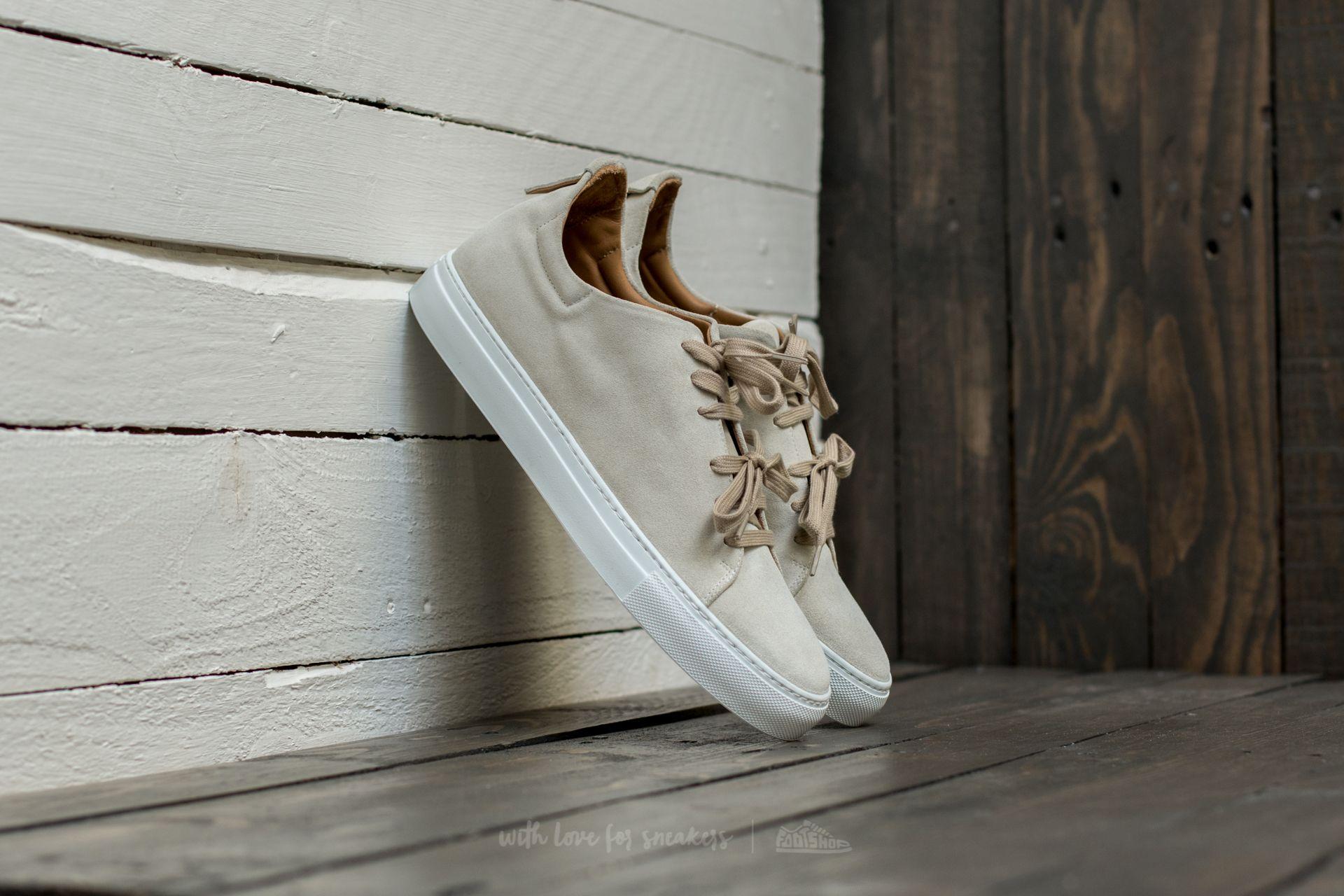 Marco Laganà Sneaker Low Velour White-White Footshop – FR