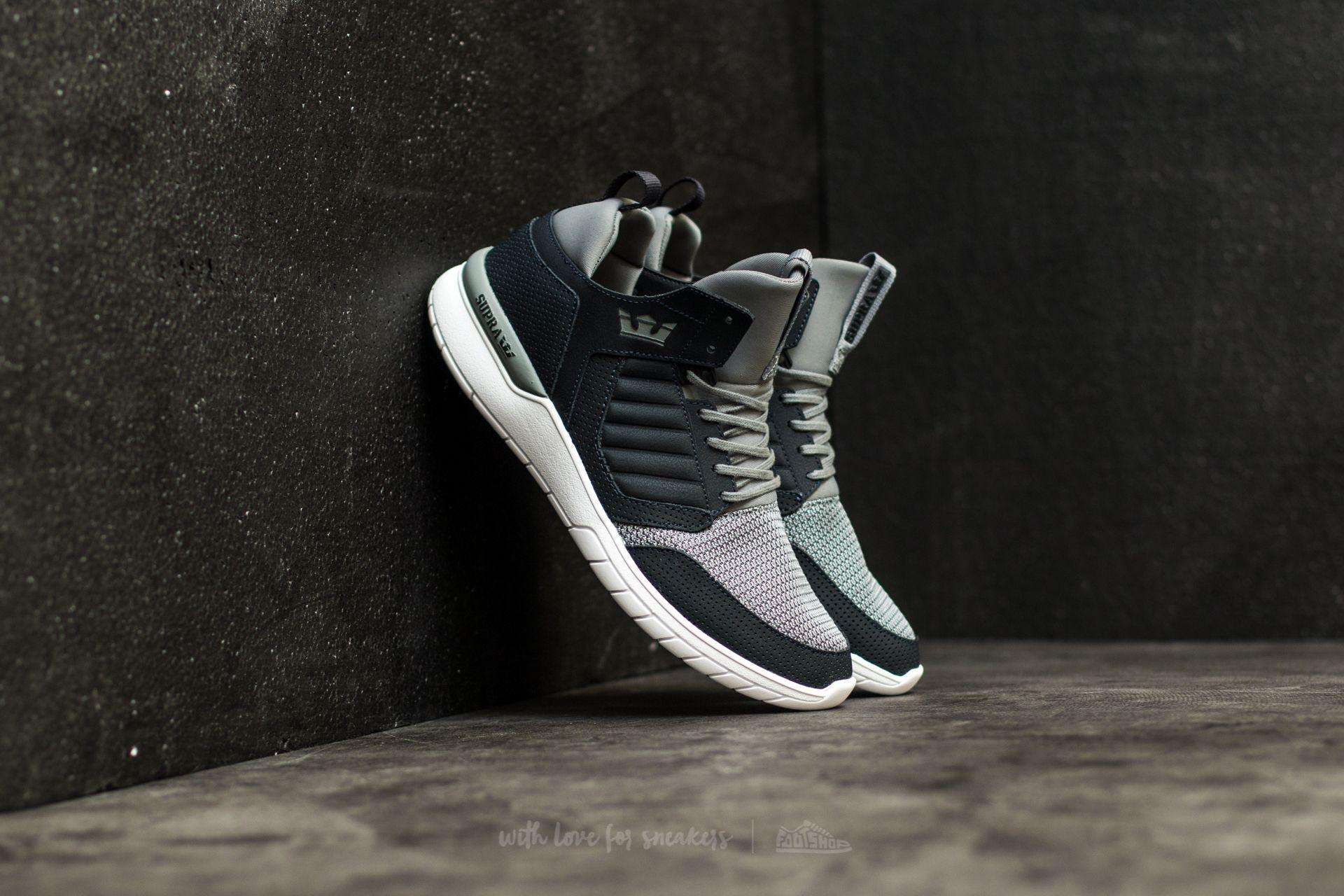 Supra Method Dark Grey-White Footshop – FR