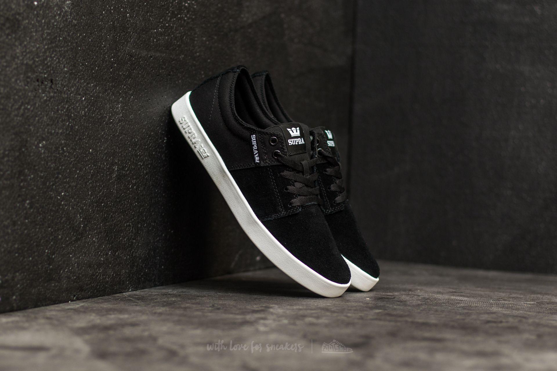 Supra Stacks II Black-White Footshop – FR