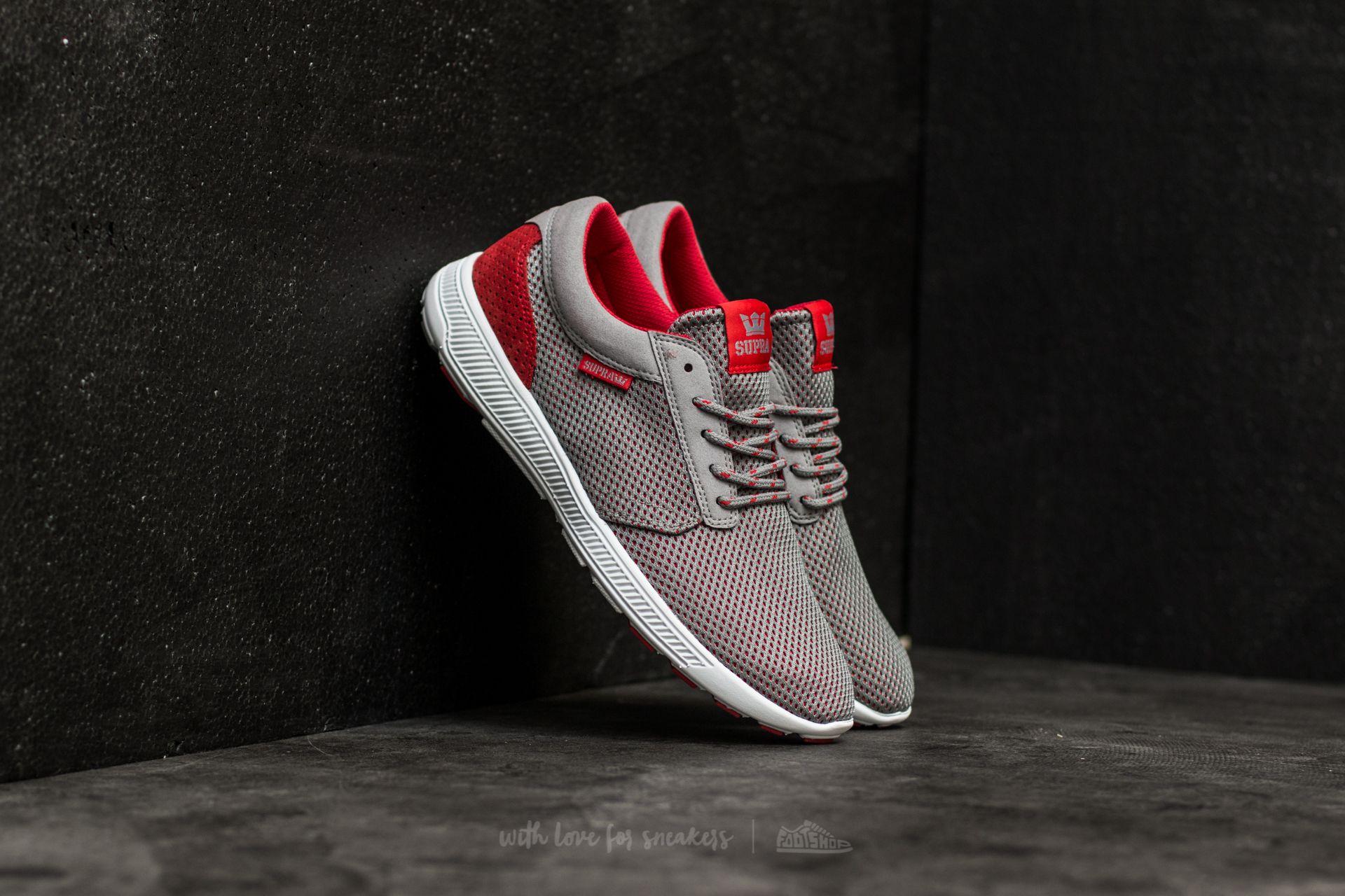 Supra Hammer Run Grey-Red Footshop – FR
