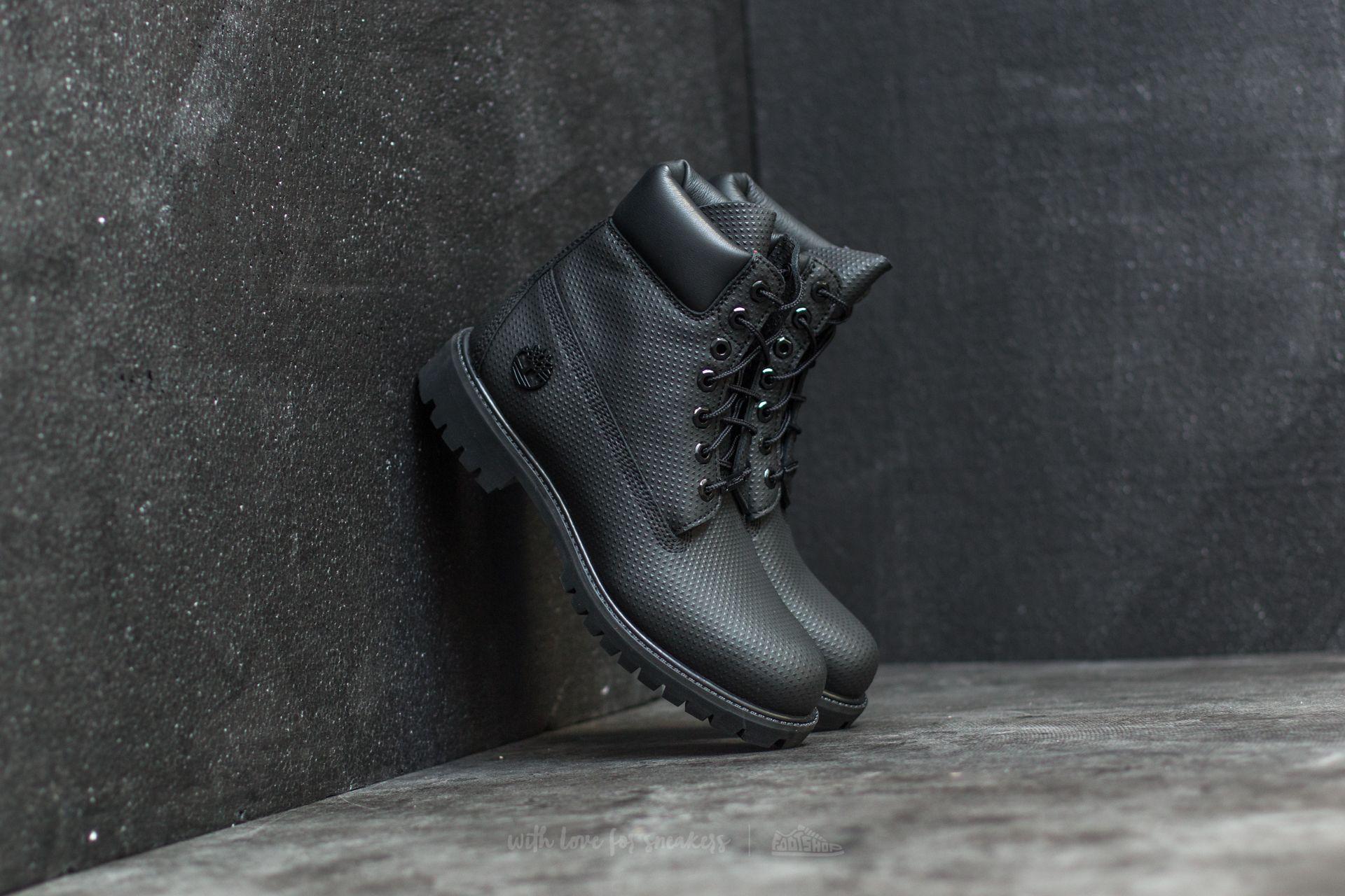 Timberland 6 Premium Boot Black Footshop – FR
