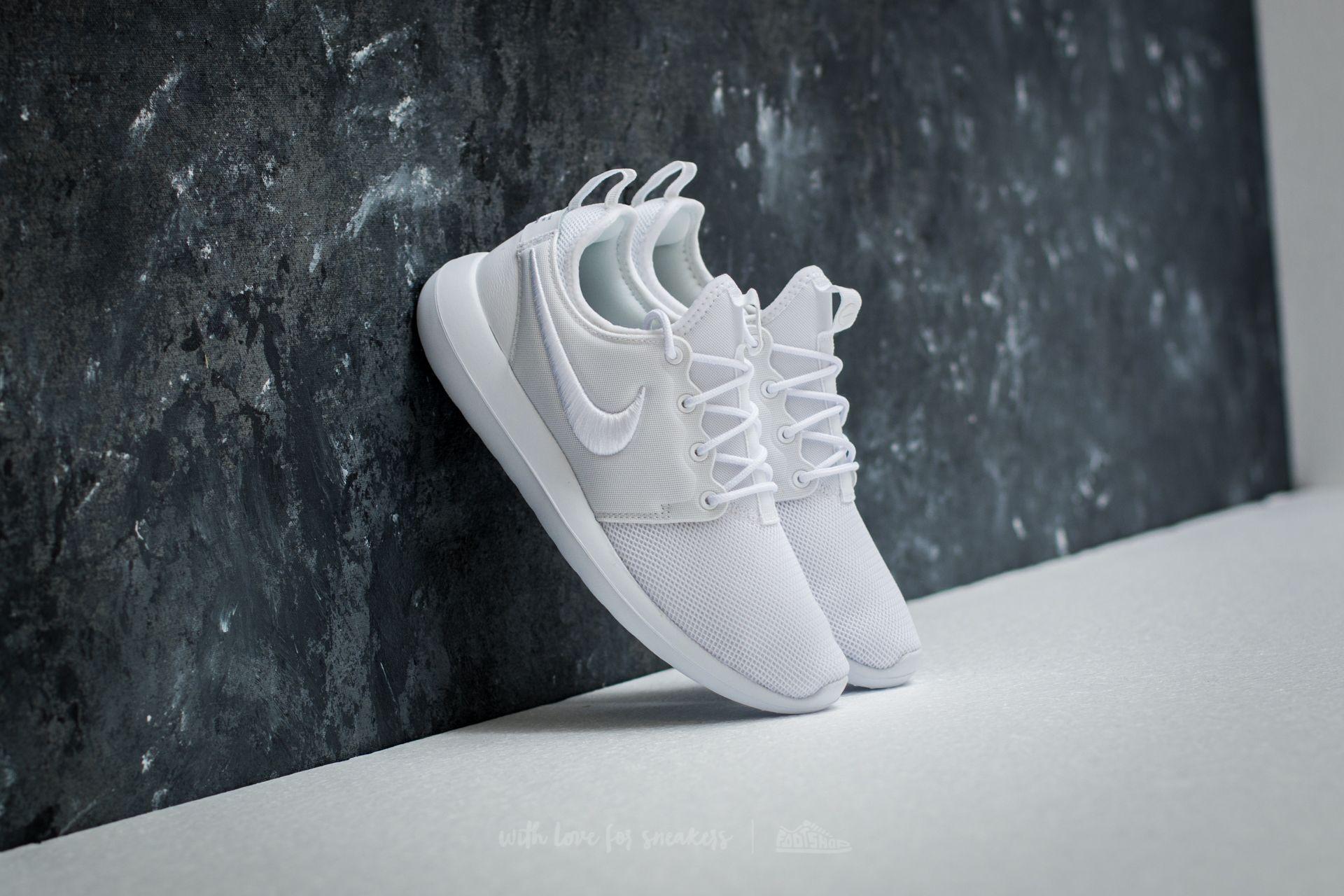 Nike W Roshe Two Br White/ White-Glacier Blue Footshop – FR