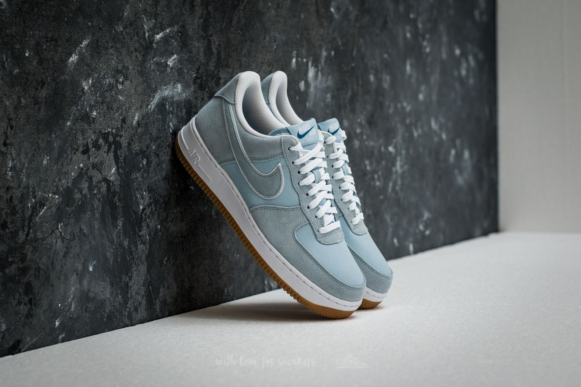 Nike Air Force 1 ´07 Light Armory Blue/ Blue/ Light Armory Blue Footshop – FR