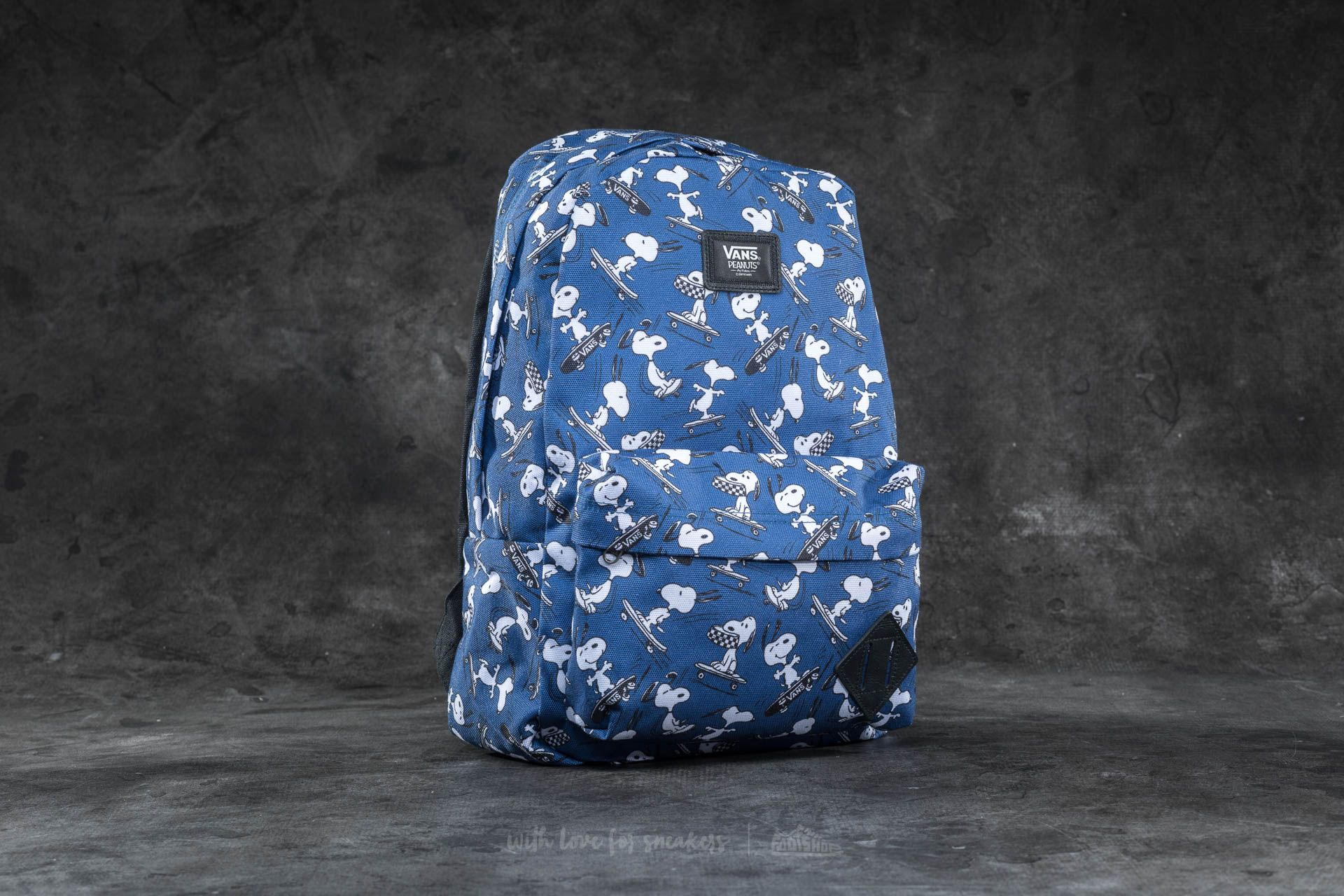 Vans x Peanuts New Skool Backpack True Navy Footshop – FR