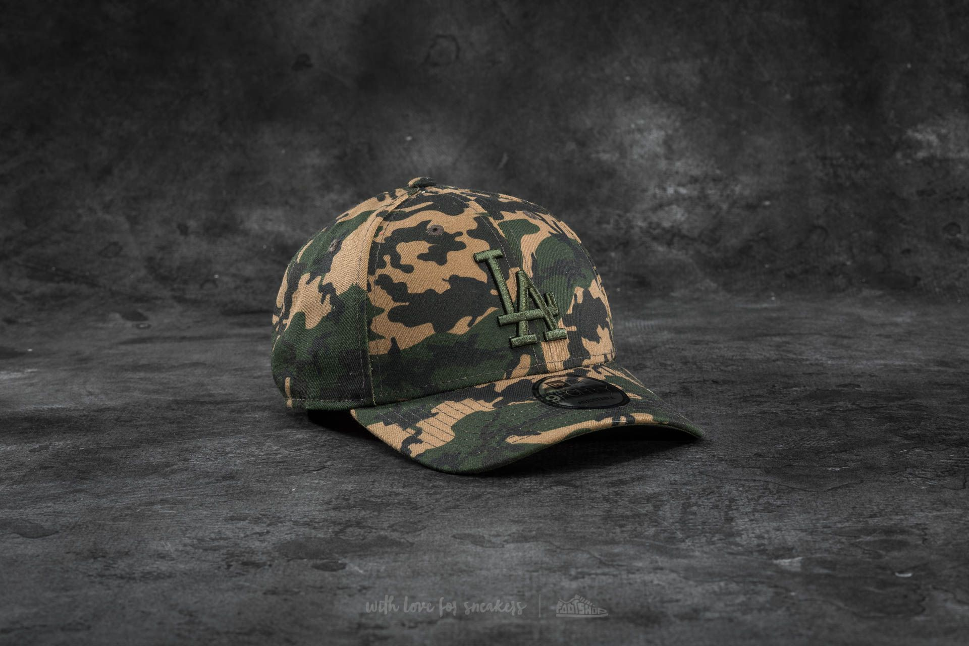 New Era 9Forty Adjustable Seasonal Los Angeles Dodgers Cap Camo Footshop – FR